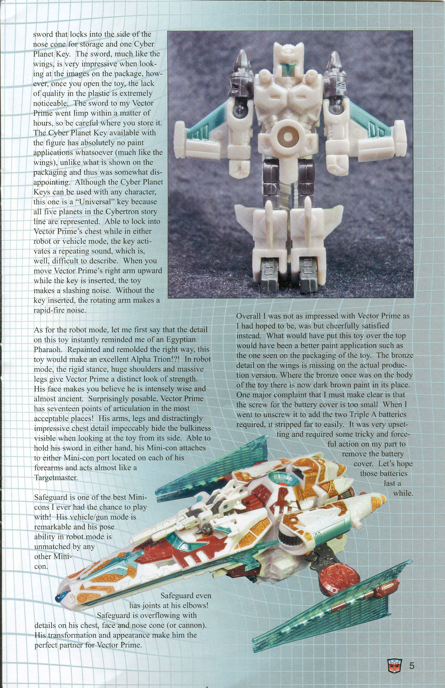 Read online Transformers: Collectors' Club comic -  Issue #3 - 5