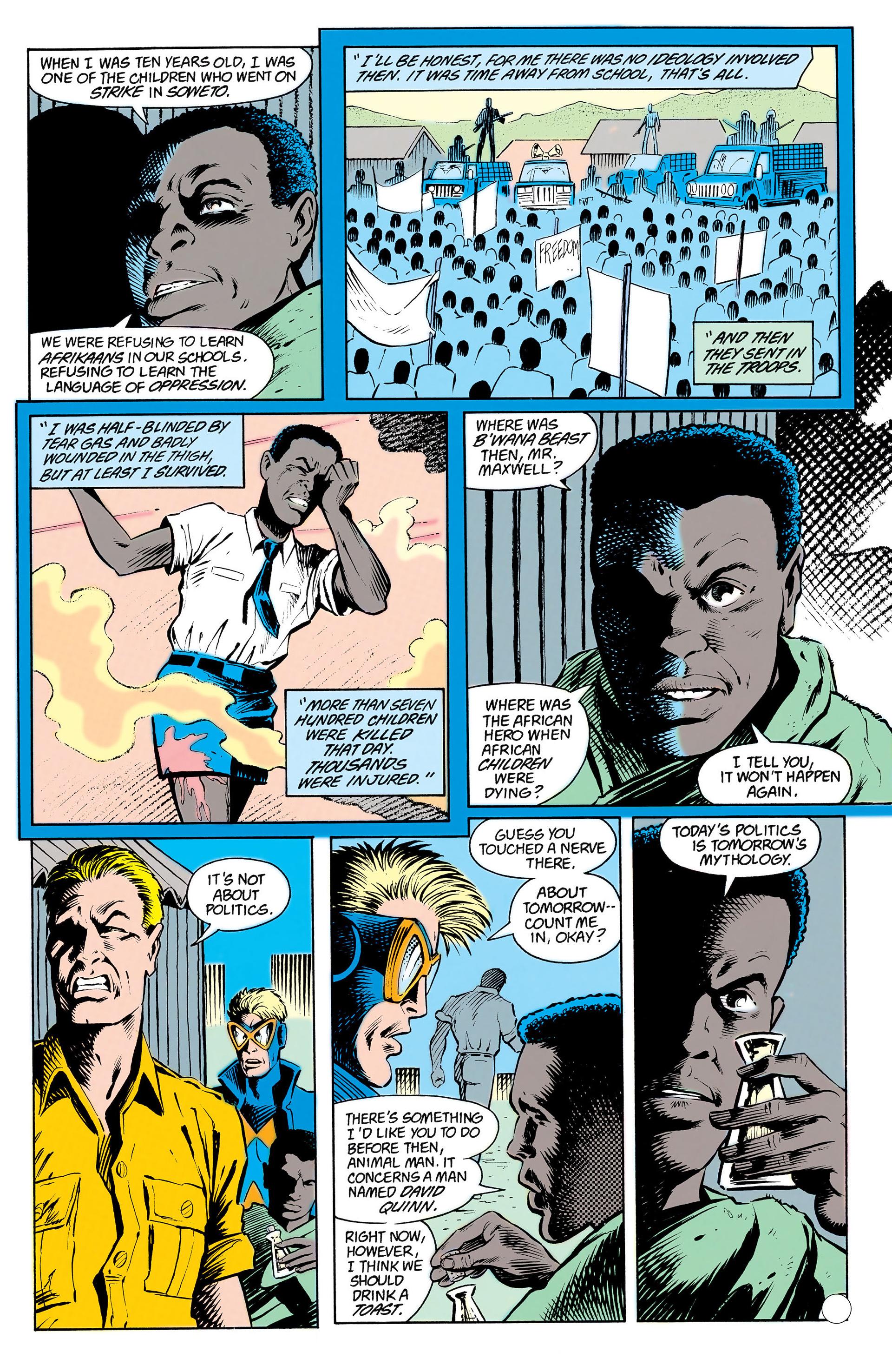 Read online Animal Man (1988) comic -  Issue #13 - 18
