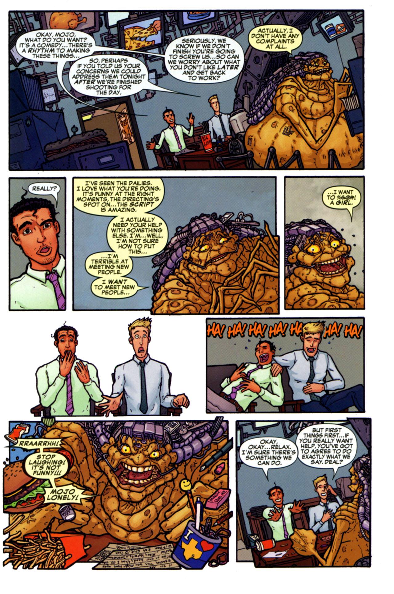 Read online Astonishing Tales (2009) comic -  Issue #4 - 28