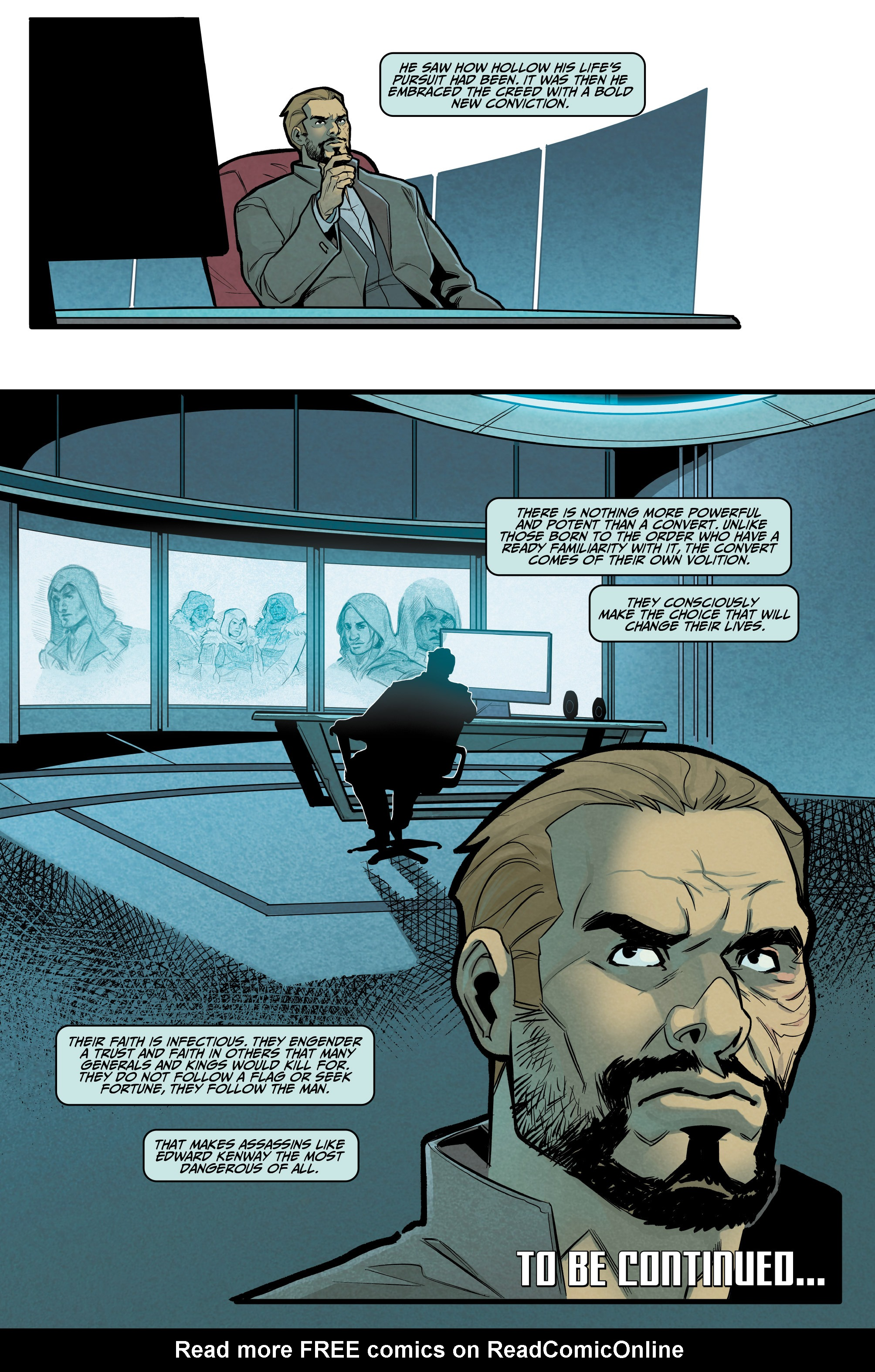 Read online Assassin's Creed: Reflections comic -  Issue #3 - 24