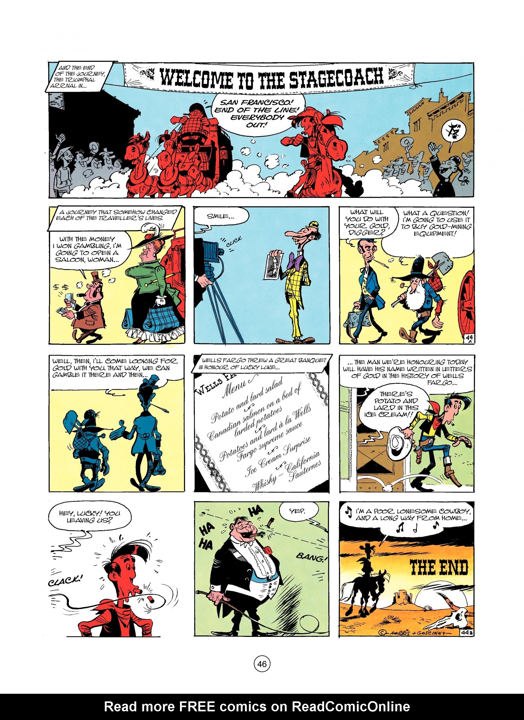 Read online A Lucky Luke Adventure comic -  Issue #25 - 46