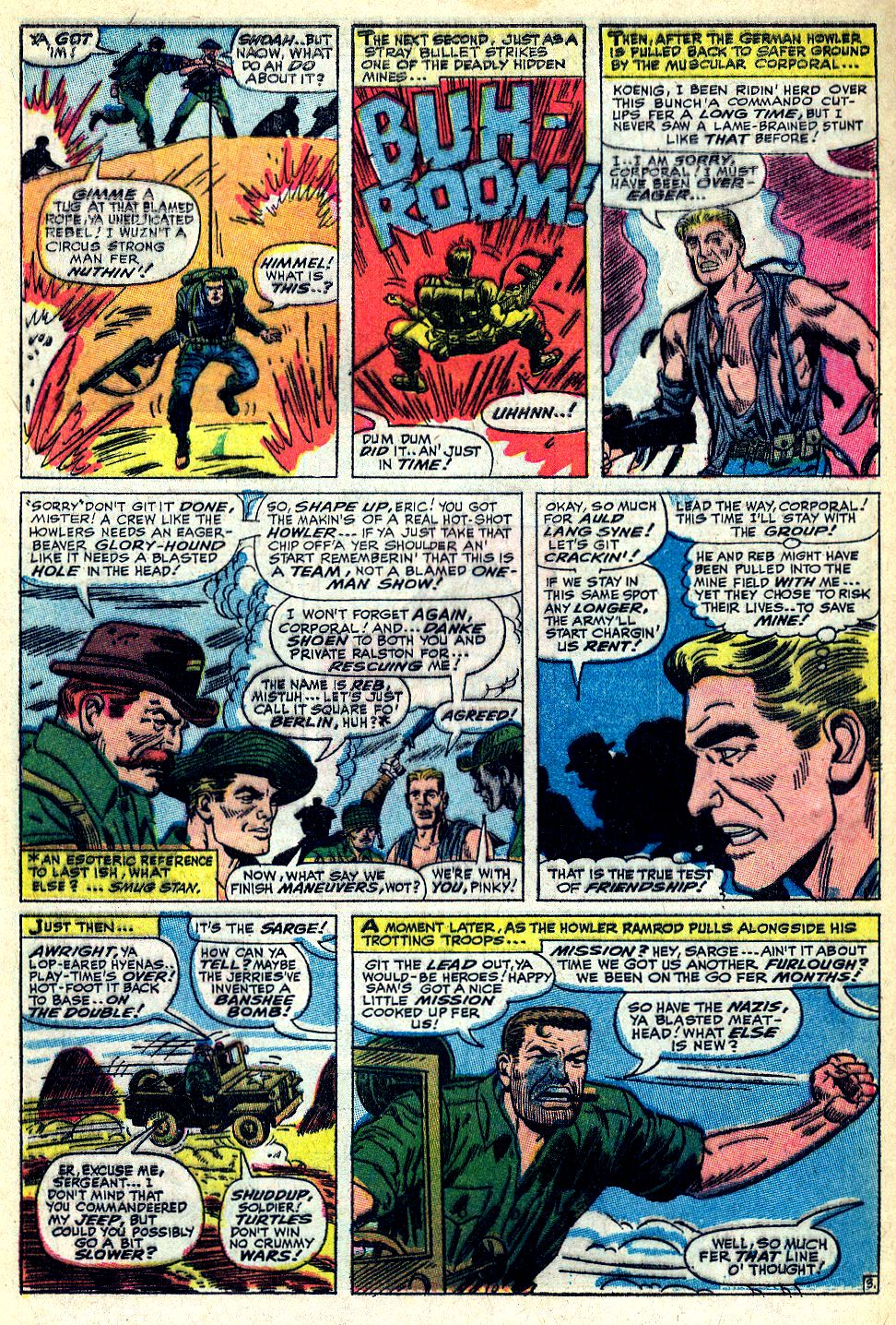Read online Sgt. Fury comic -  Issue #36 - 5