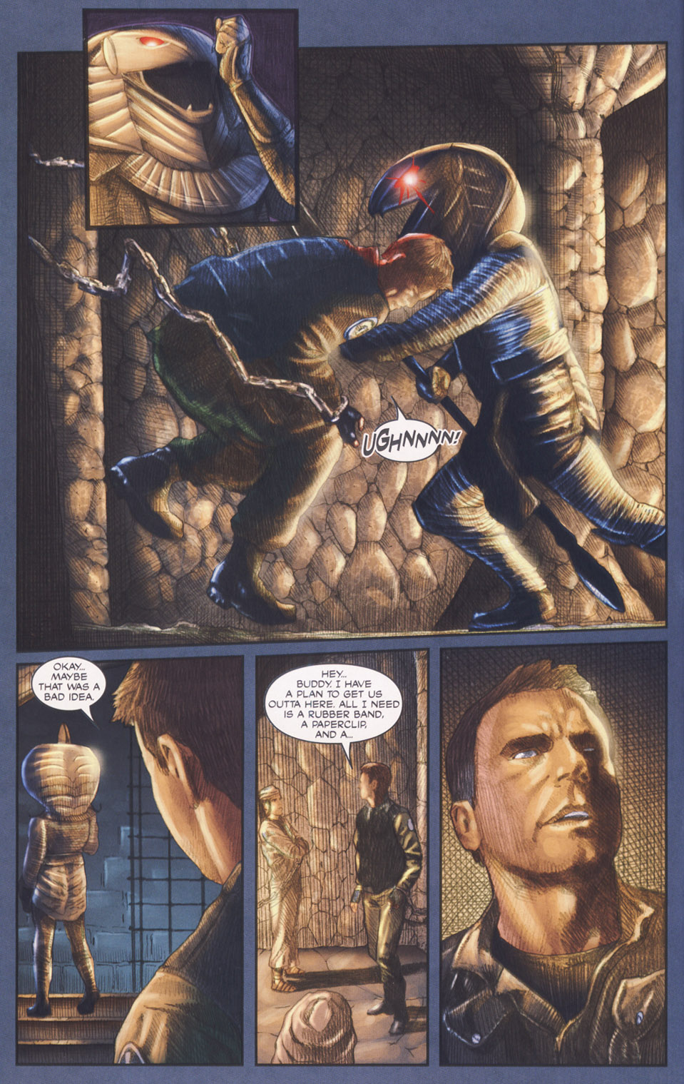 Read online Stargate SG-1: POW comic -  Issue #2 - 8