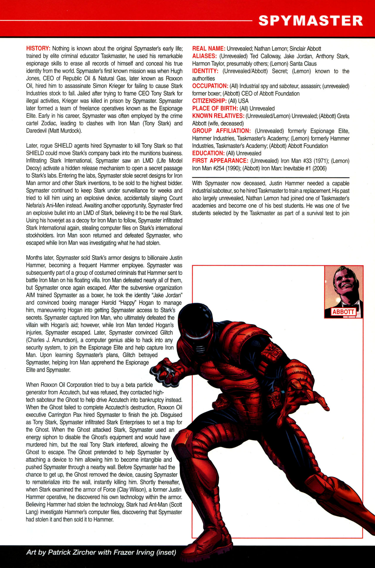 Read online All-New Official Handbook of the Marvel Universe A to Z: Update comic -  Issue #4 - 45