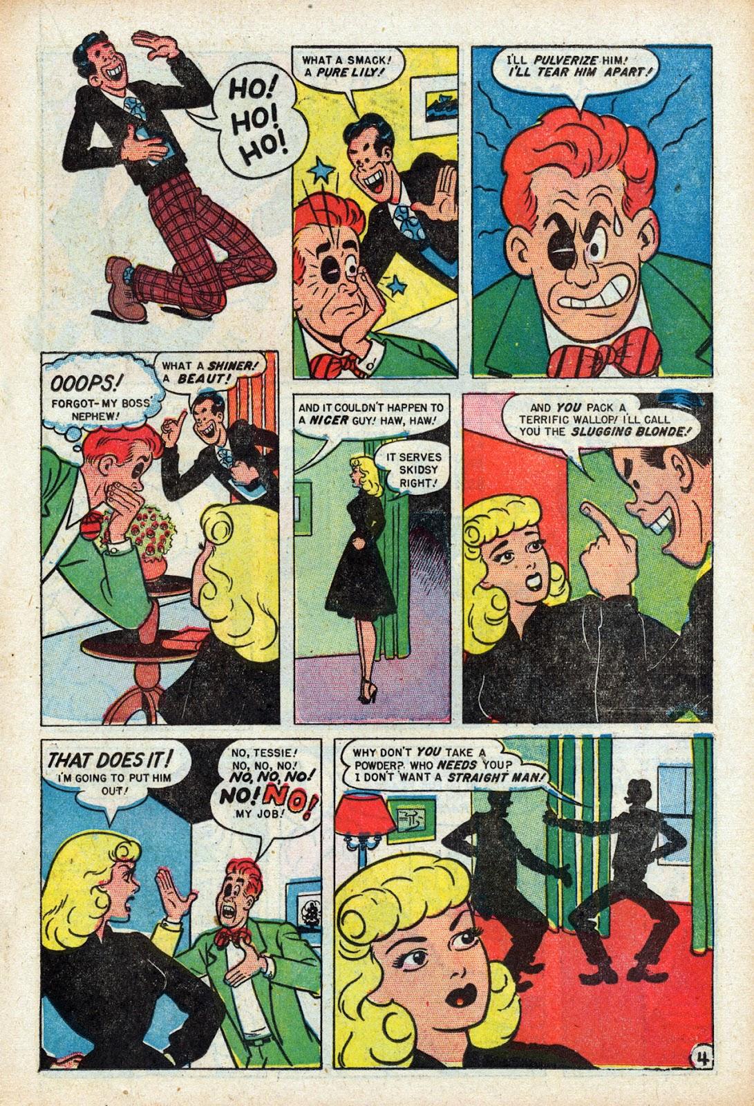 Read online Comedy Comics (1948) comic -  Issue #3 - 15