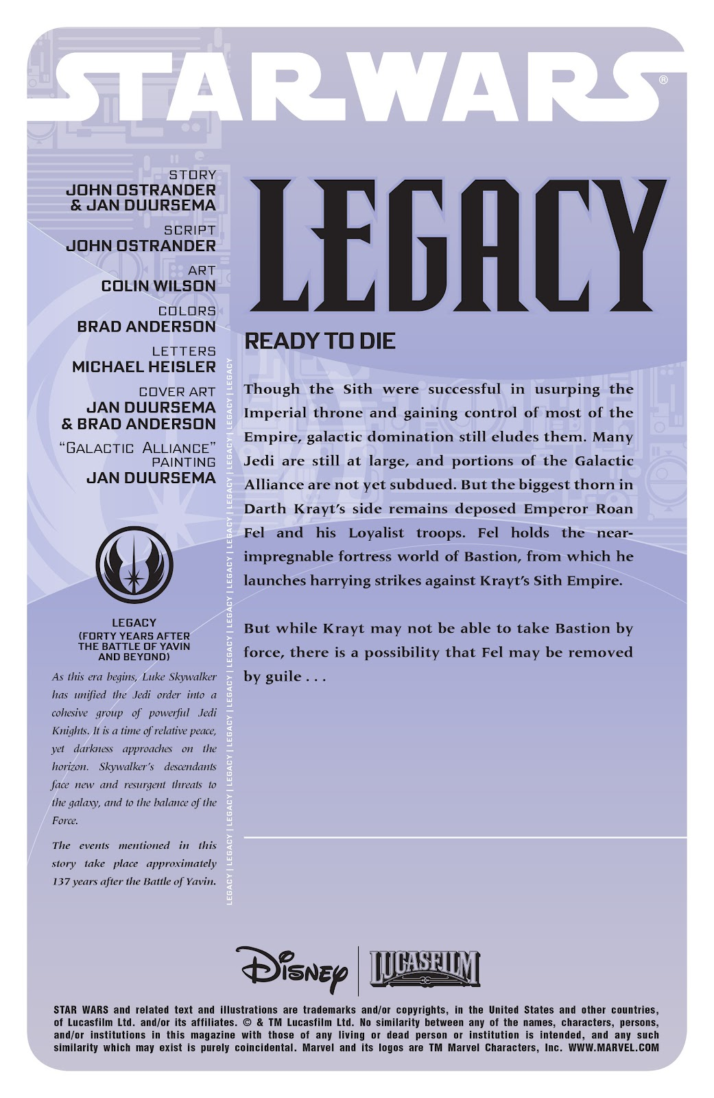 Read online Star Wars Legends: Legacy - Epic Collection comic -  Issue # TPB 1 (Part 3) - 47
