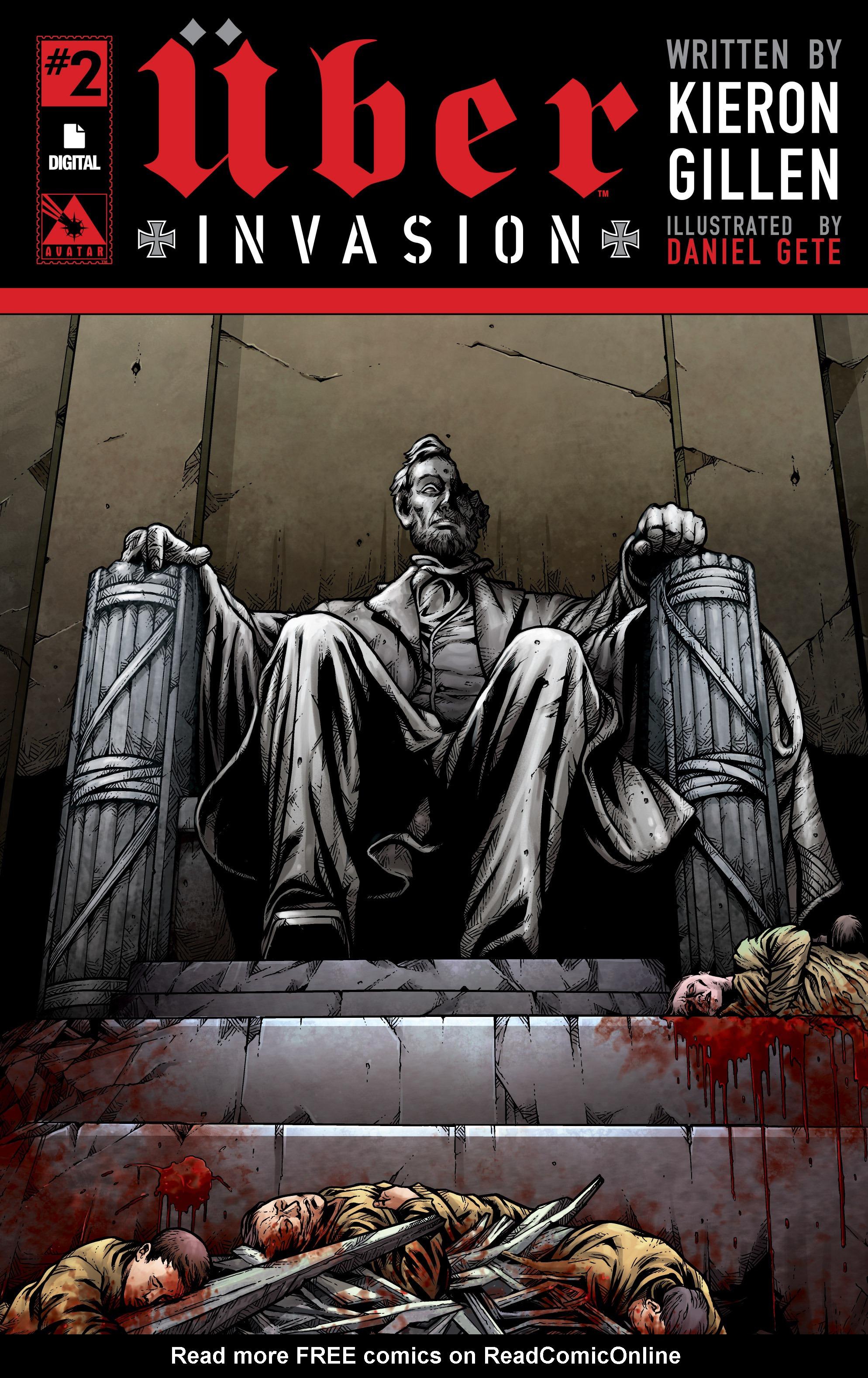 Read online Uber: Invasion comic -  Issue #2 - 1