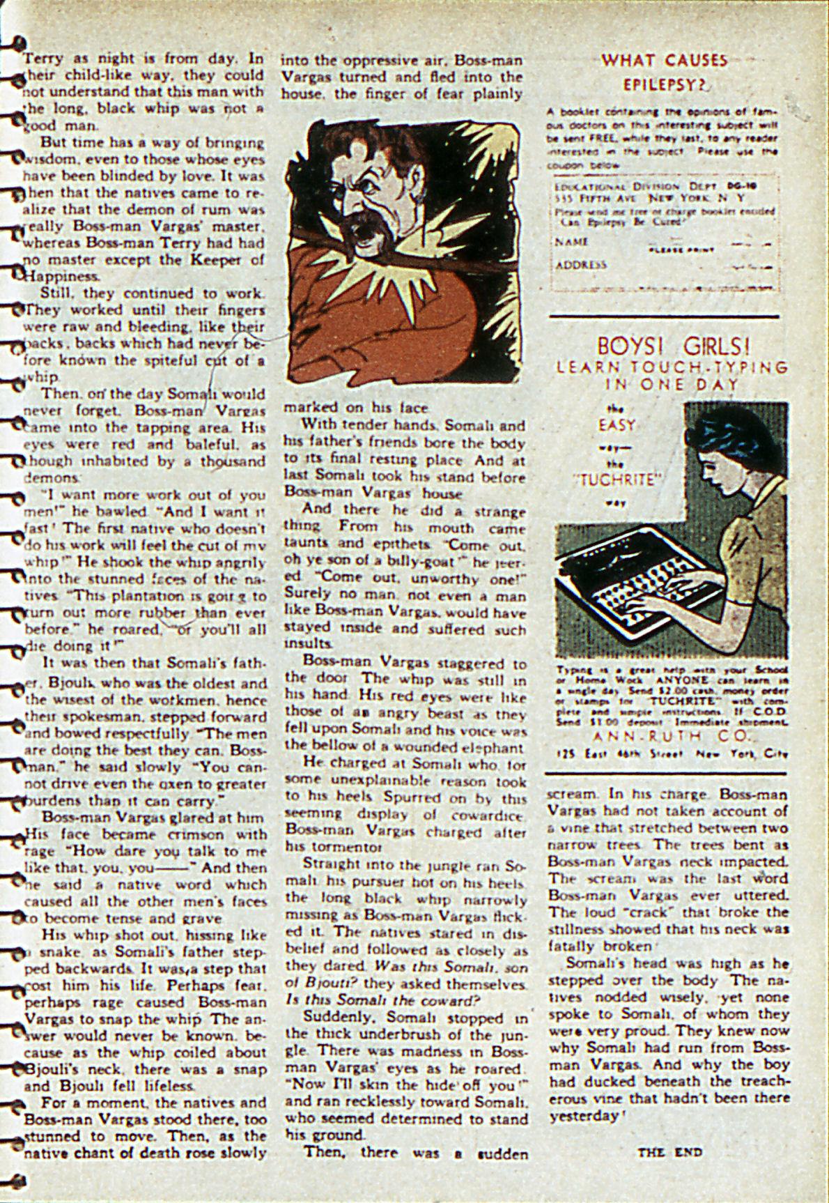 Read online Adventure Comics (1938) comic -  Issue #55 - 48