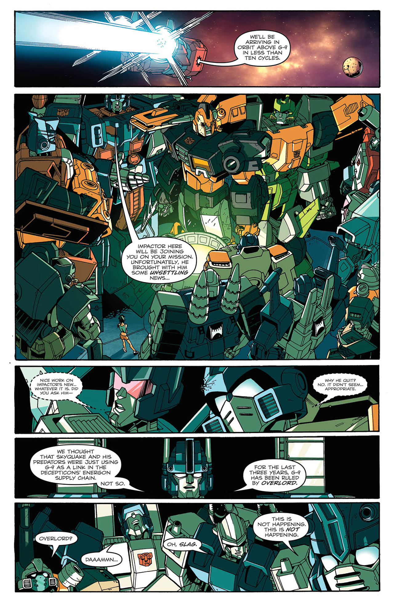 Read online Transformers: Last Stand of The Wreckers comic -  Issue #2 - 14