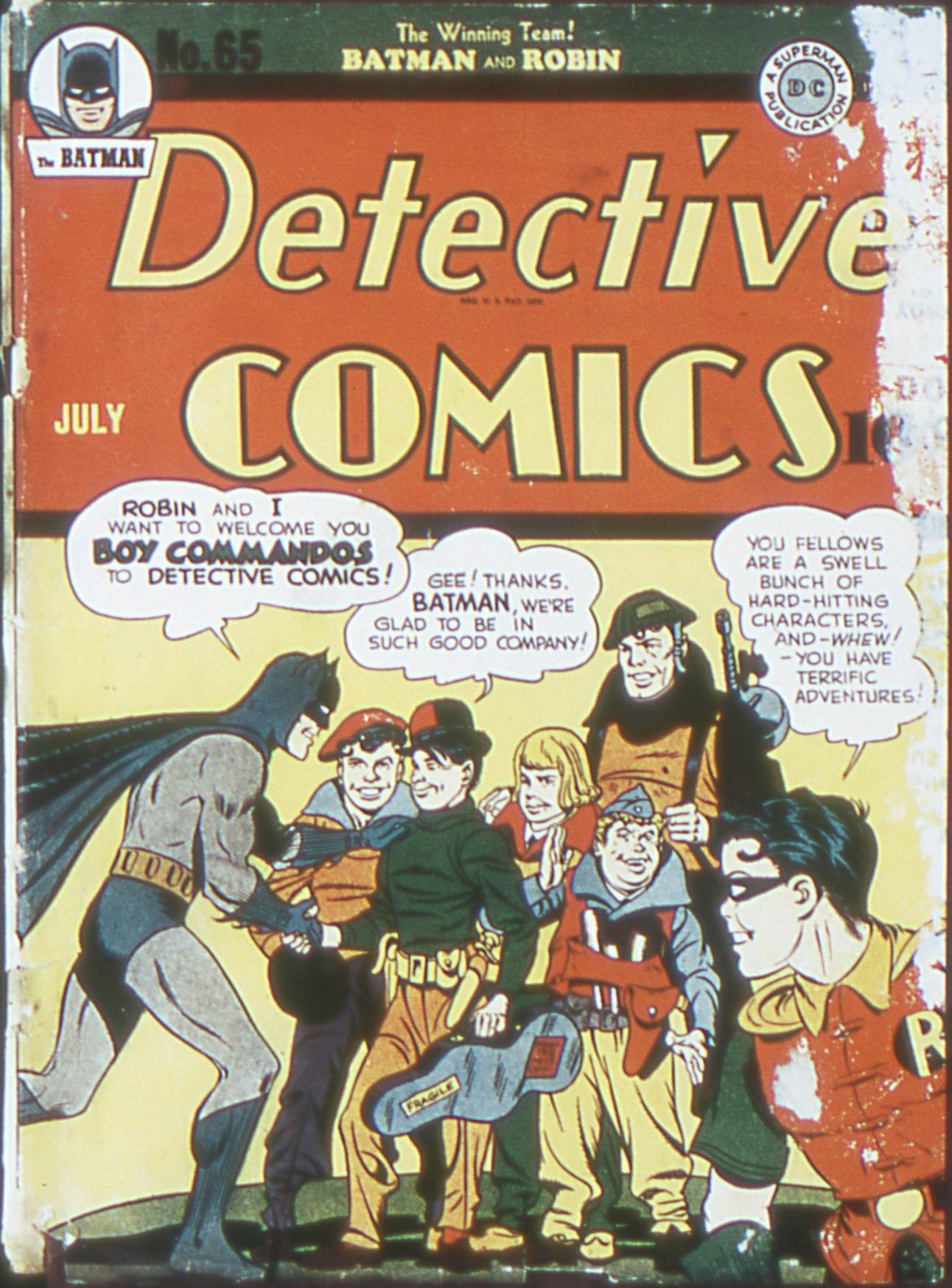 Detective Comics (1937) 65 Page 1