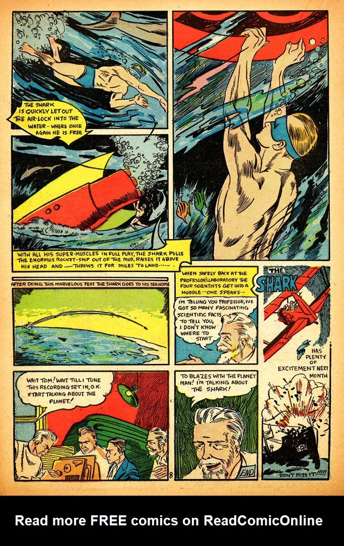 Read online Amazing Man Comics comic -  Issue #12 - 42