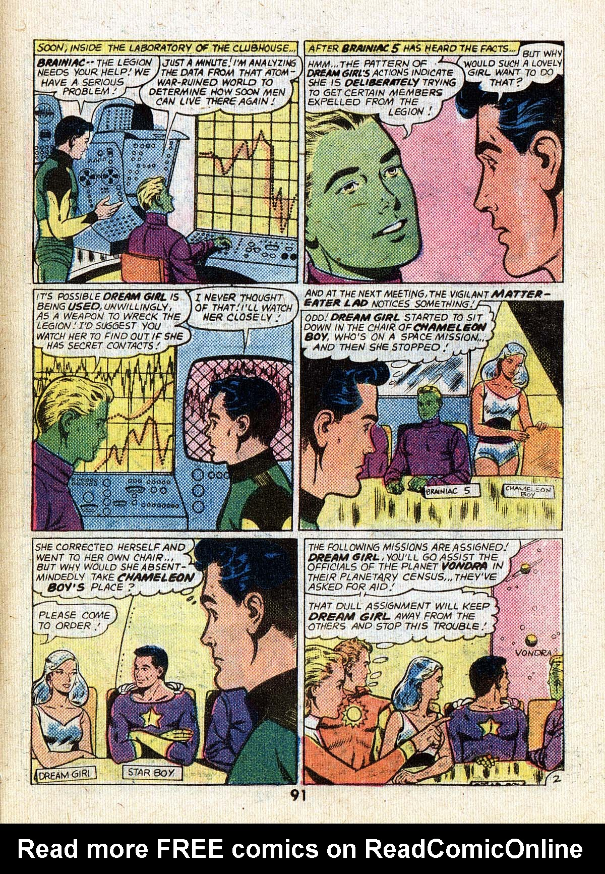 Read online Adventure Comics (1938) comic -  Issue #502 - 91