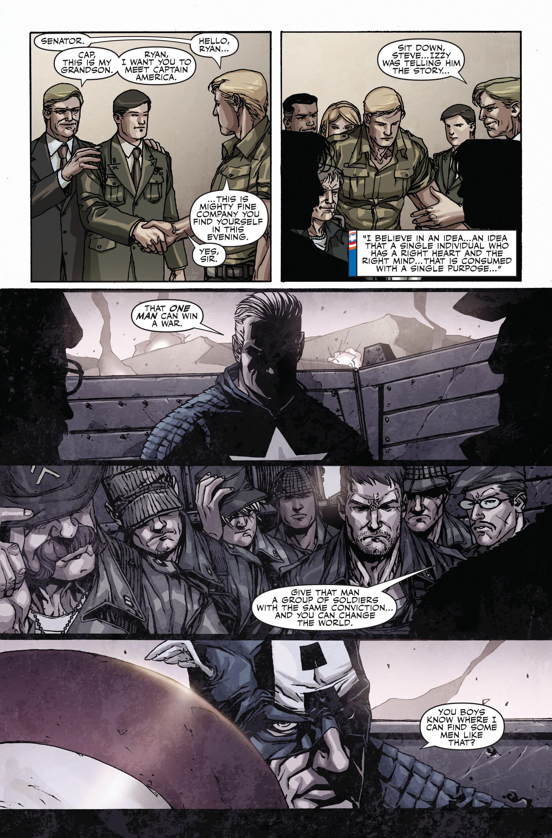 Read online Secret Warriors comic -  Issue #17 - 22