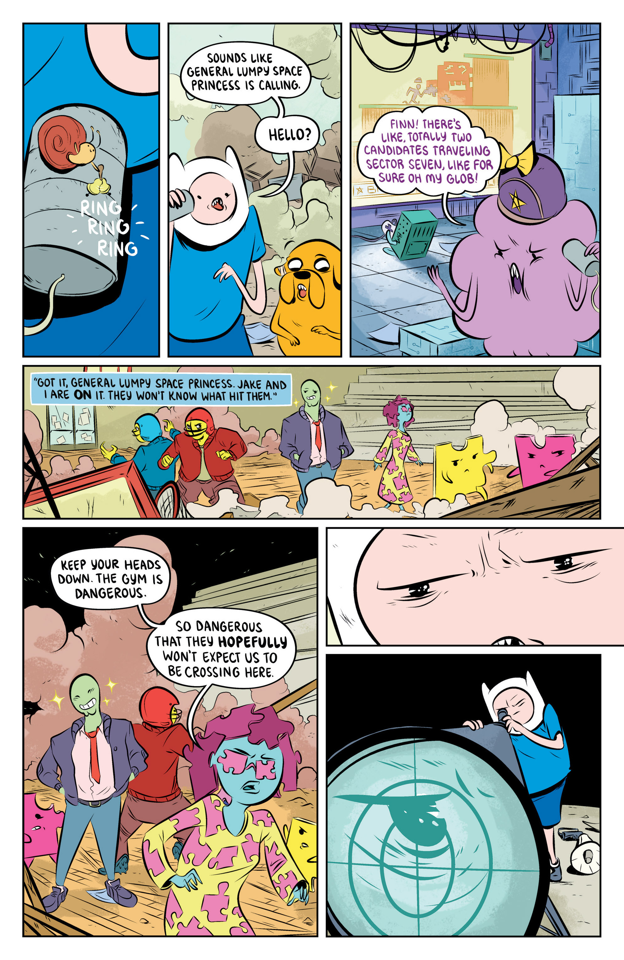 Read online Adventure Time: The Flip Side comic -  Issue #4 - 17