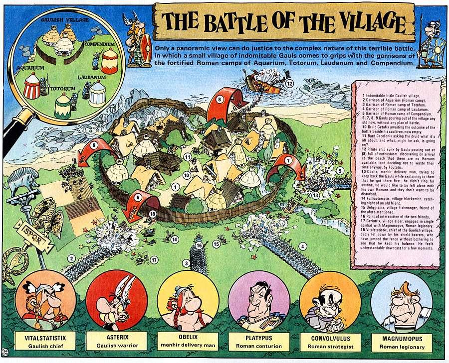 Read online Asterix comic -  Issue #15 - 43
