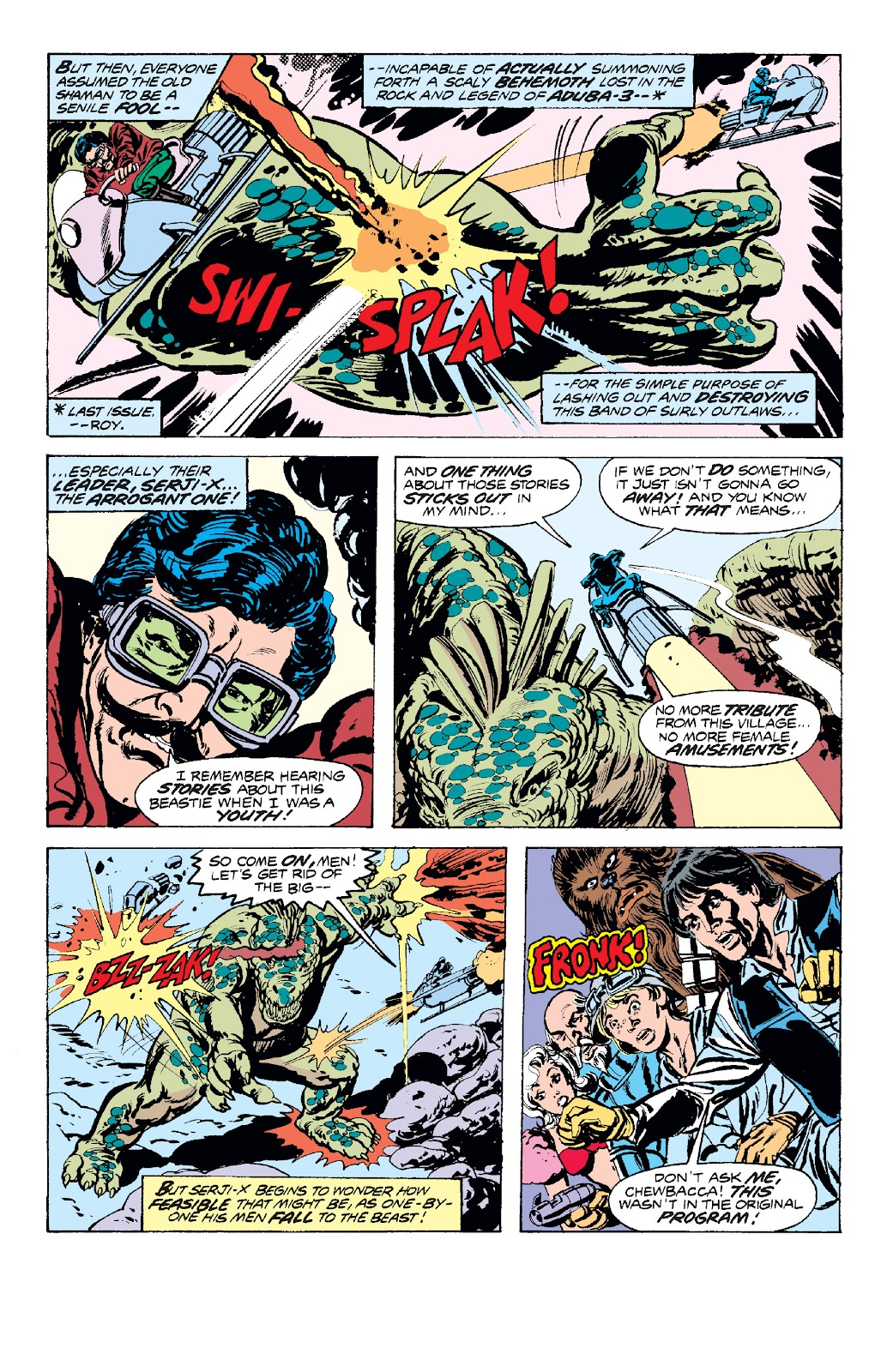 Read online Star Wars Legends: The Original Marvel Years - Epic Collection comic -  Issue # TPB 1 (Part 2) - 74