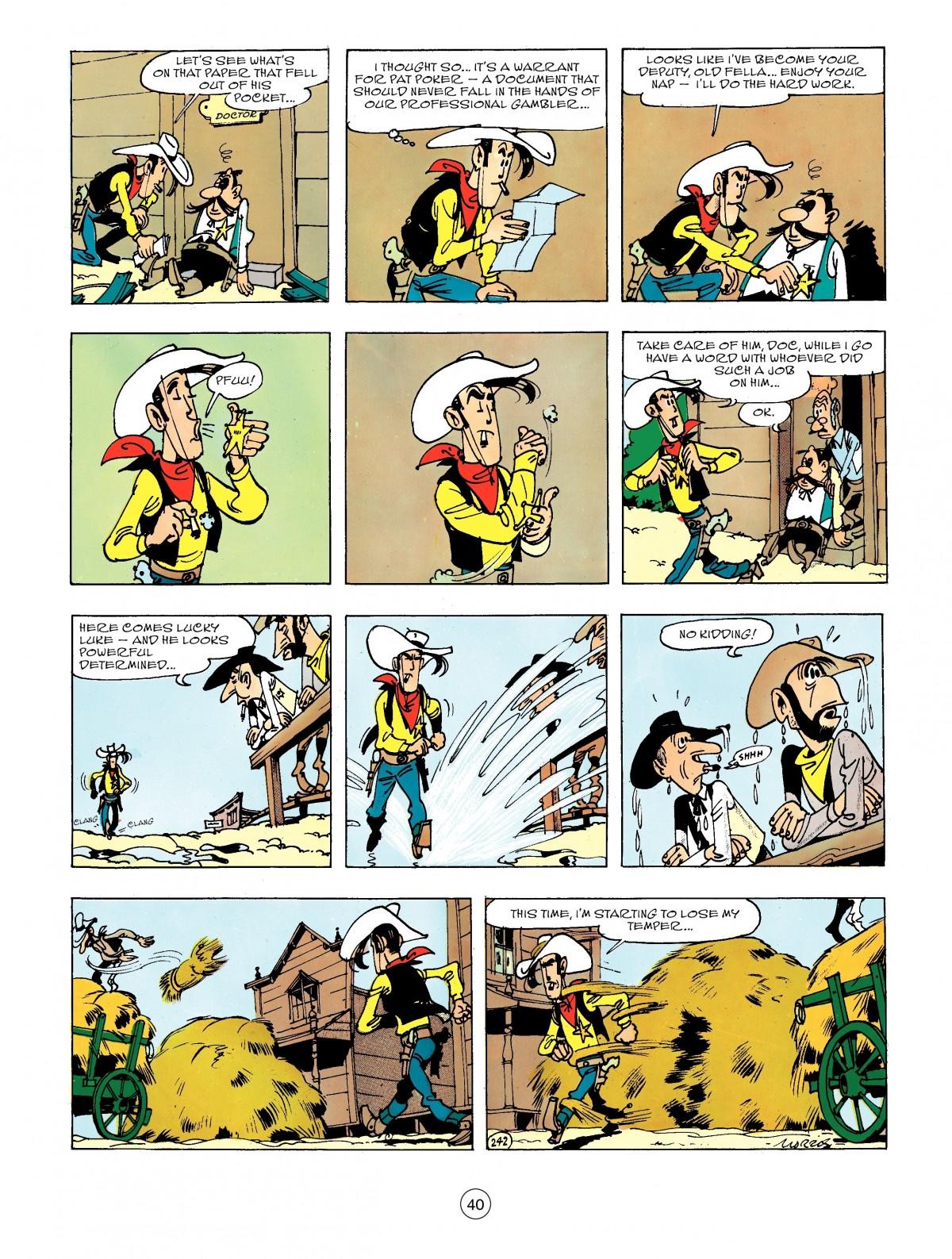 Read online A Lucky Luke Adventure comic -  Issue #44 - 40