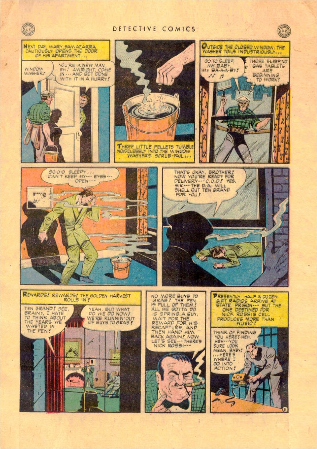 Read online Detective Comics (1937) comic -  Issue #92 - 7