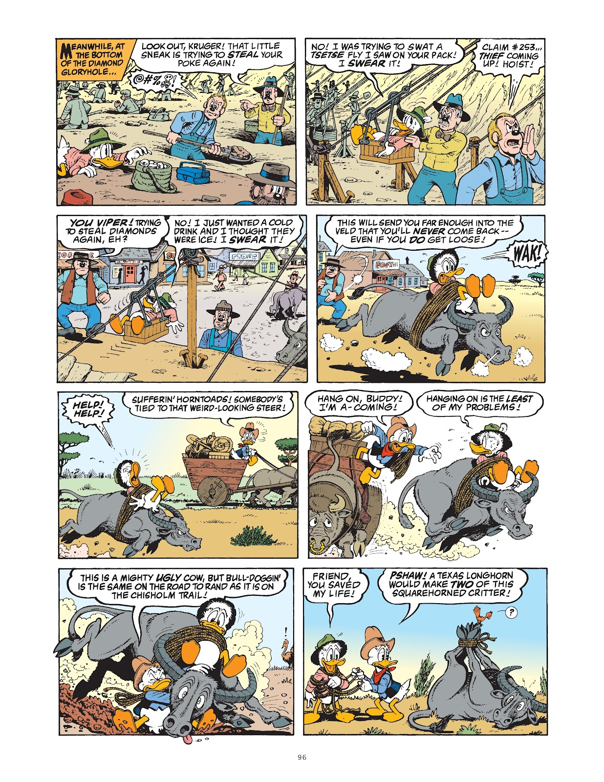 Read online The Complete Life and Times of Scrooge McDuck comic -  Issue # TPB 1 (Part 1) - 98