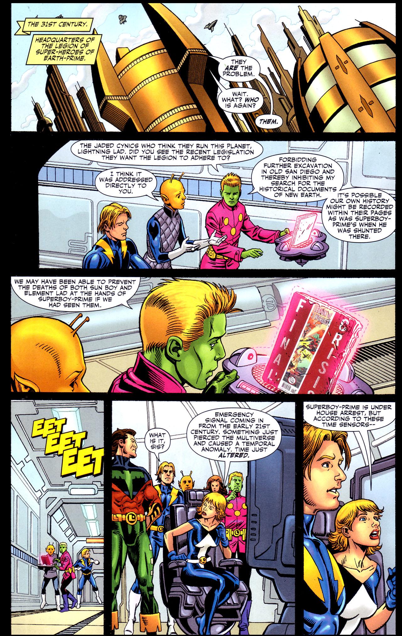 Read online Adventure Comics (2009) comic -  Issue #4 - 9