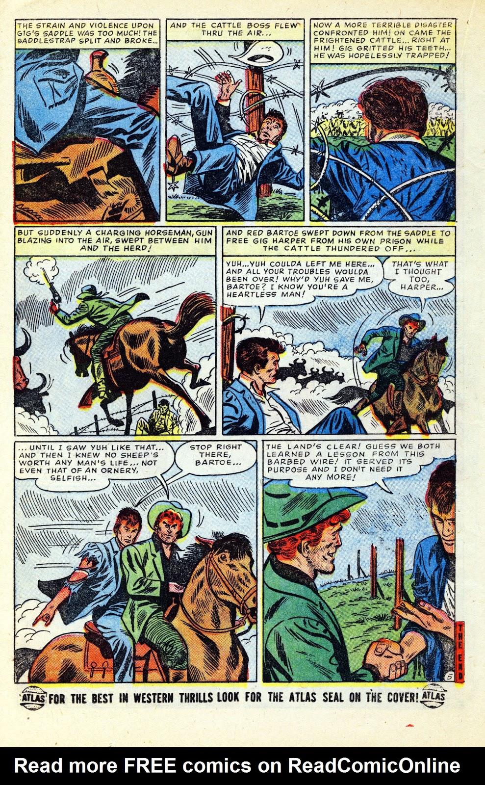 Gunsmoke Western issue 32 - Page 20