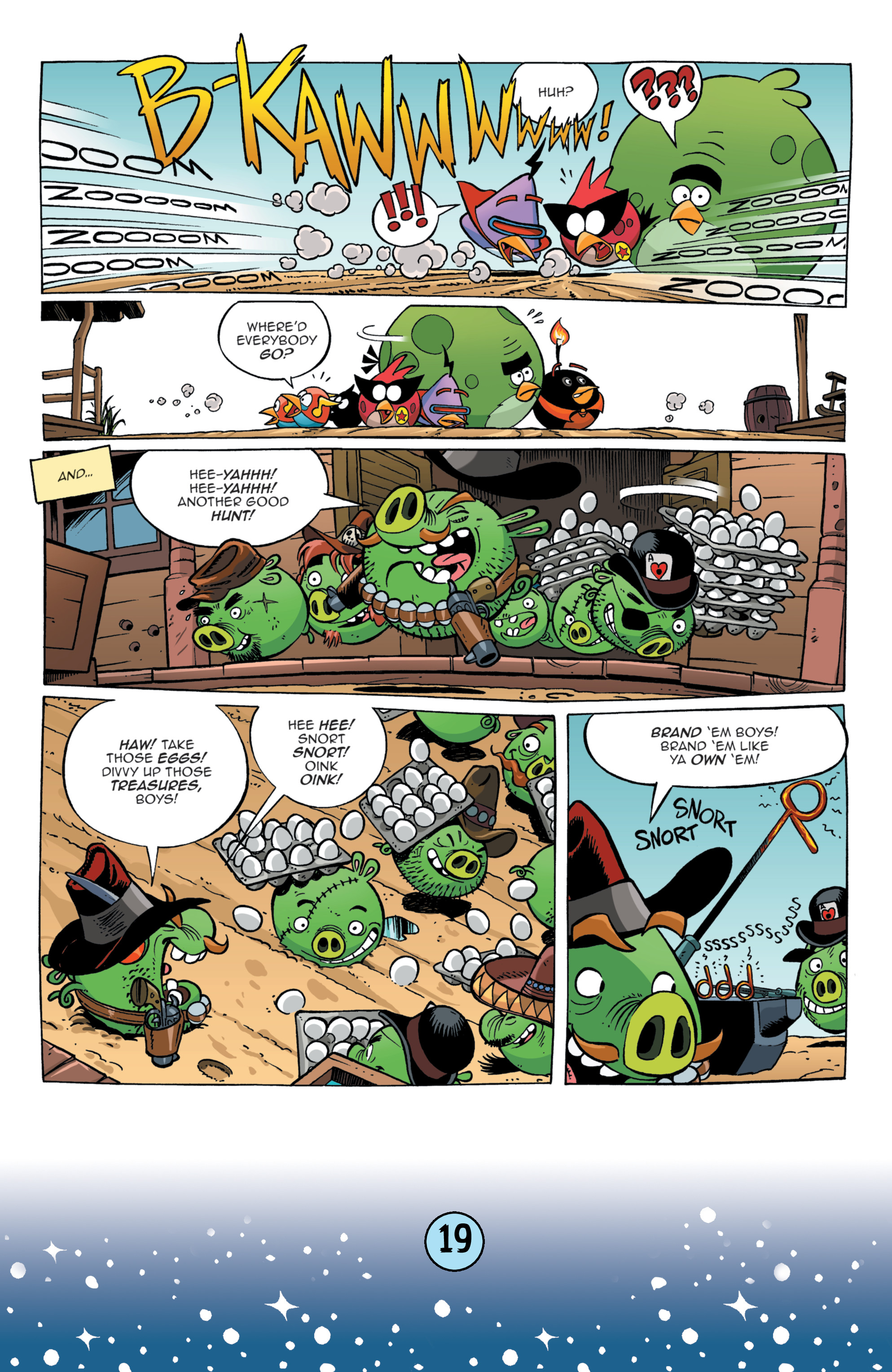 Read online Angry Birds Comics (2016) comic -  Issue #9 - 21