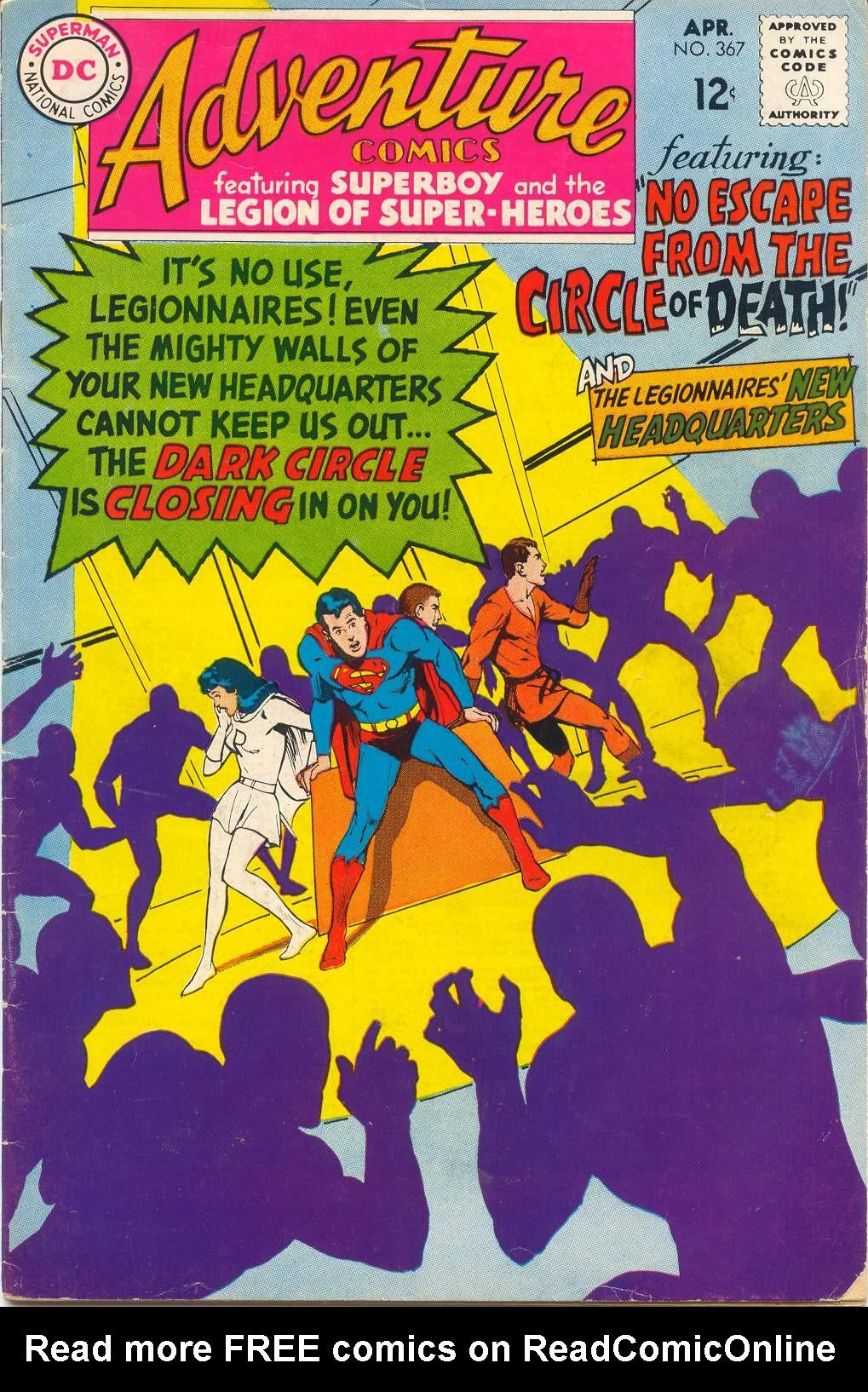 Read online Adventure Comics (1938) comic -  Issue #367 - 2