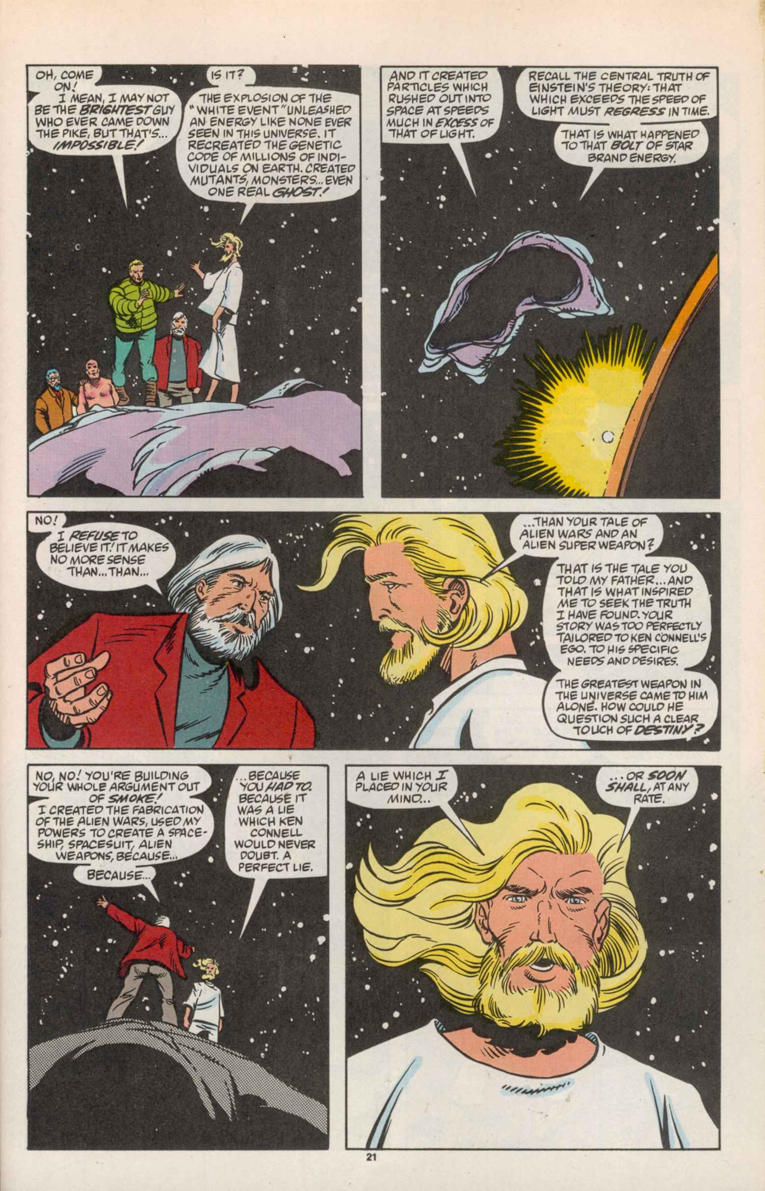 Read online Star Brand comic -  Issue #19 - 23