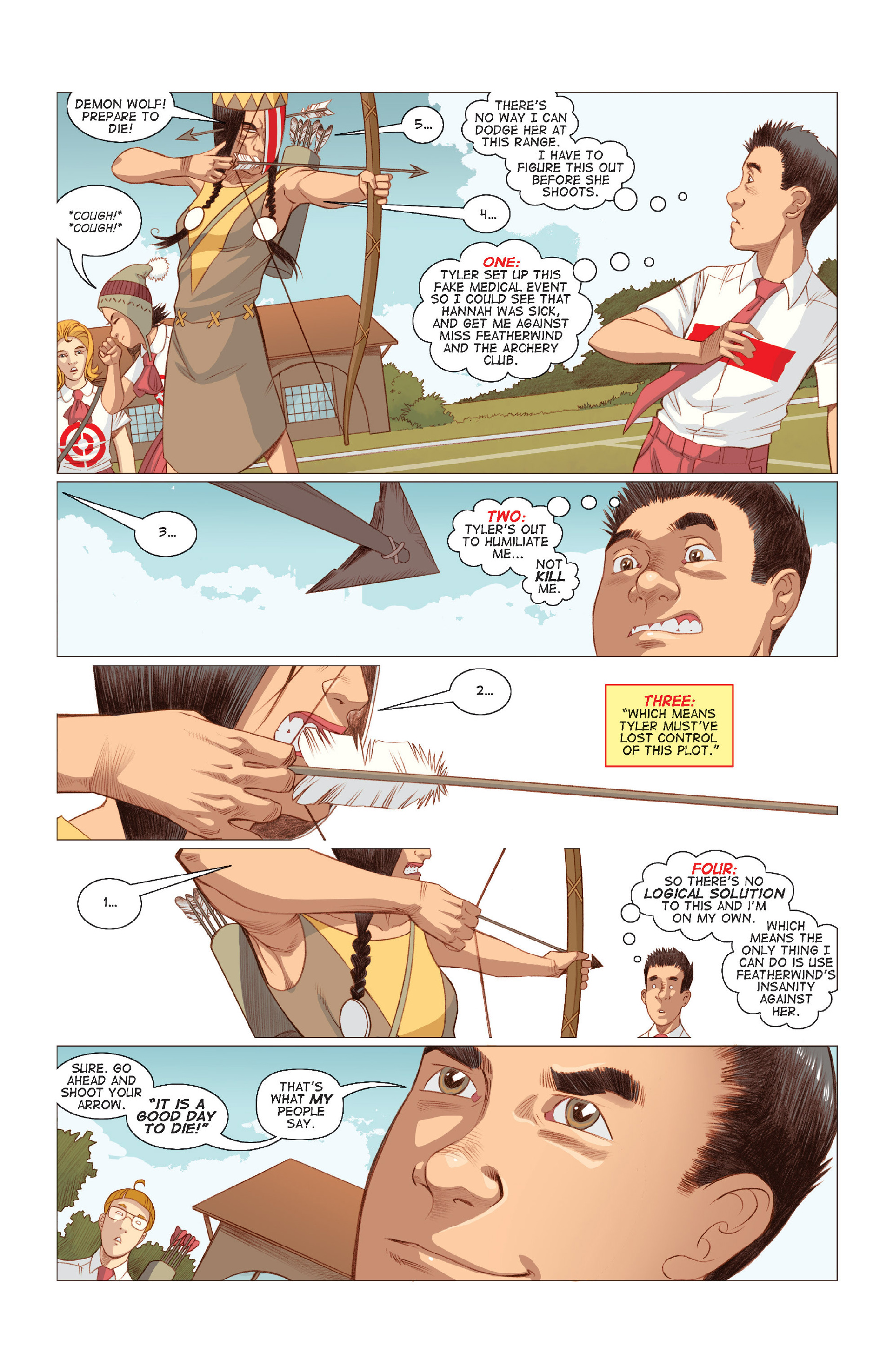 Read online Five Weapons comic -  Issue #8 - 3