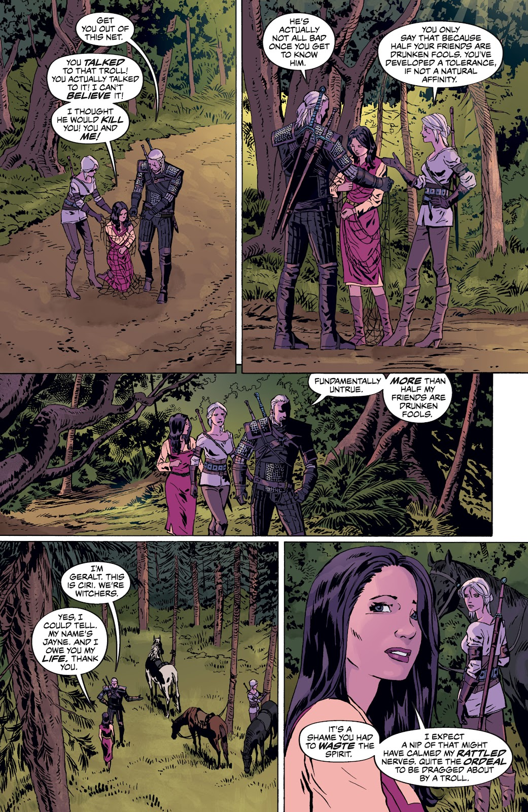 Read online The Witcher Omnibus comic -  Issue # TPB (Part 4) - 3