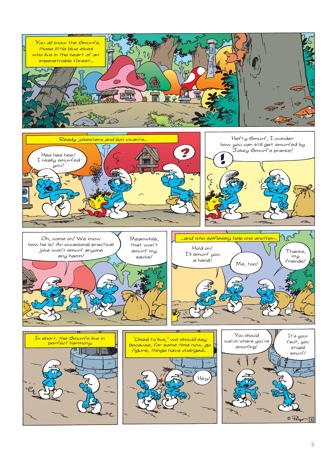 Read online The Smurfs comic -  Issue #22 - 6