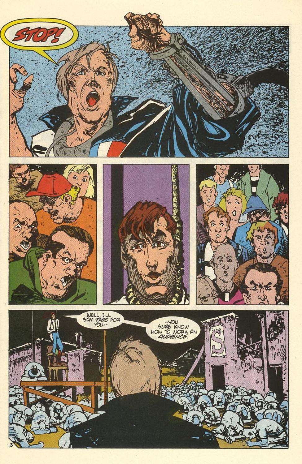 Read online American Flagg! comic -  Issue #41 - 5