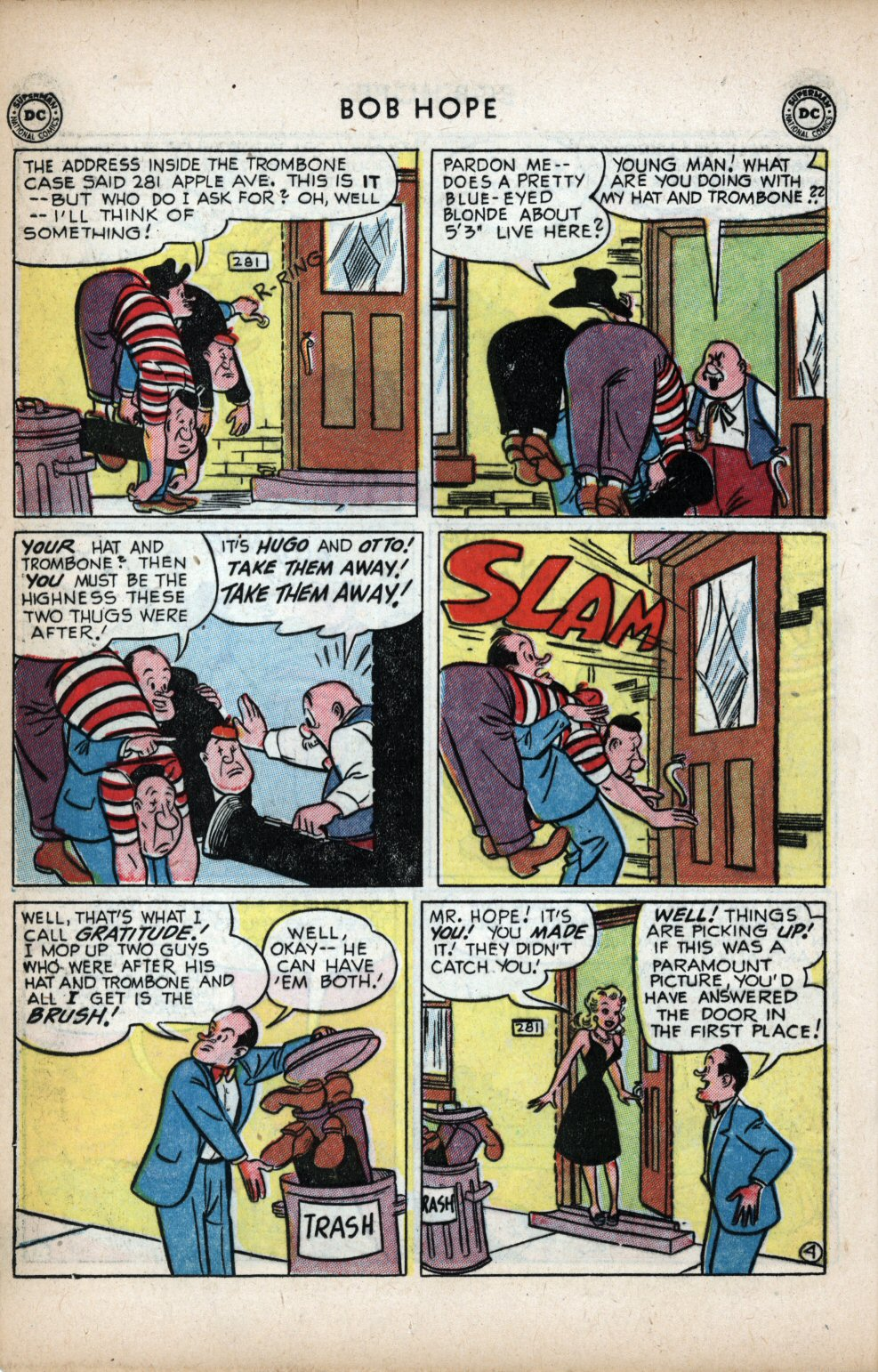 The Adventures of Bob Hope issue 11 - Page 14