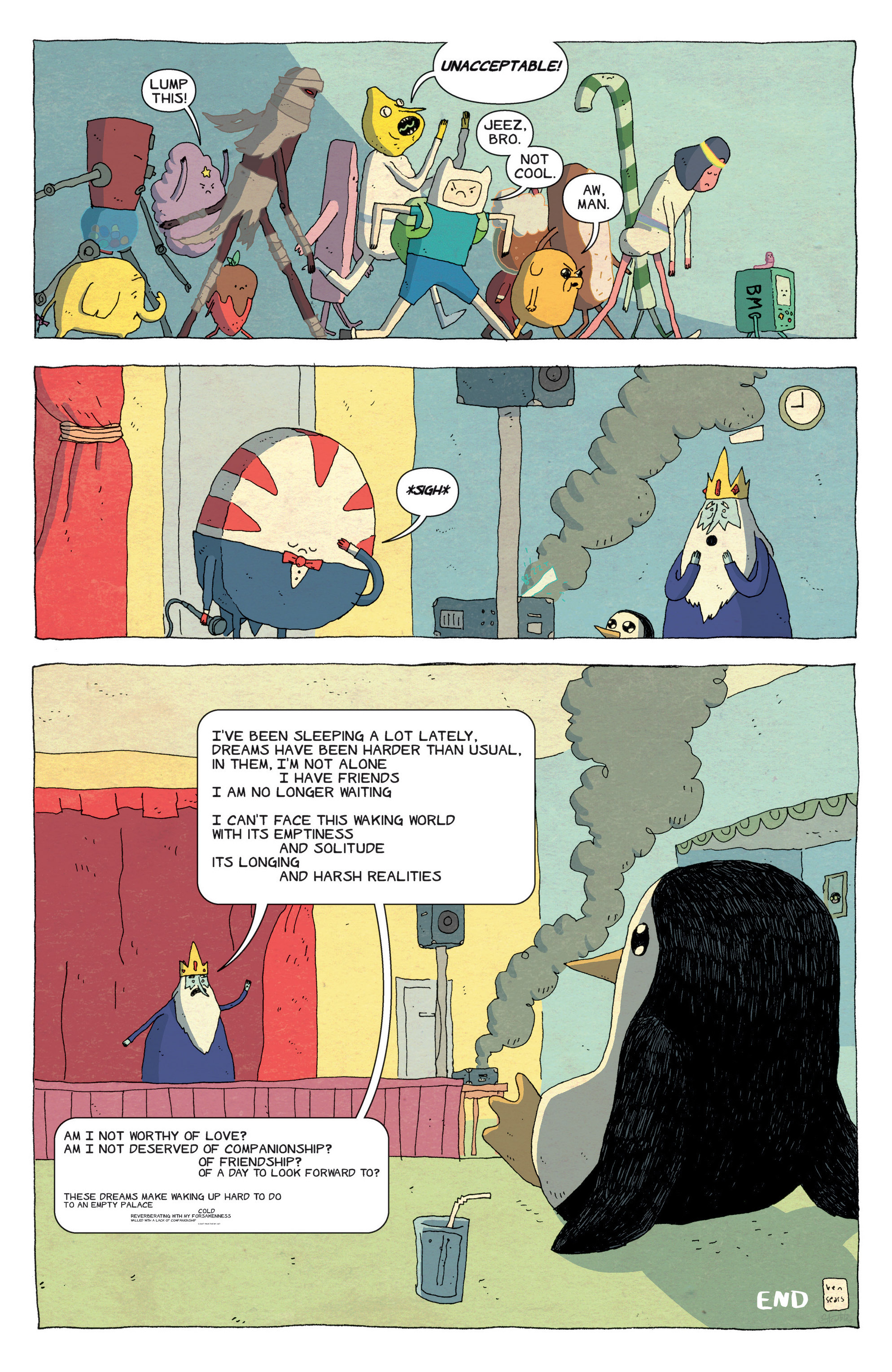 Read online Adventure Time comic -  Issue #43 - 24