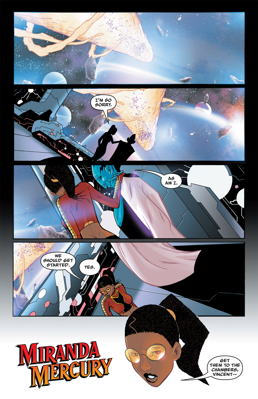 Read online The Many Adventures of Miranda Mercury: Time Runs Out comic -  Issue # TPB - 42
