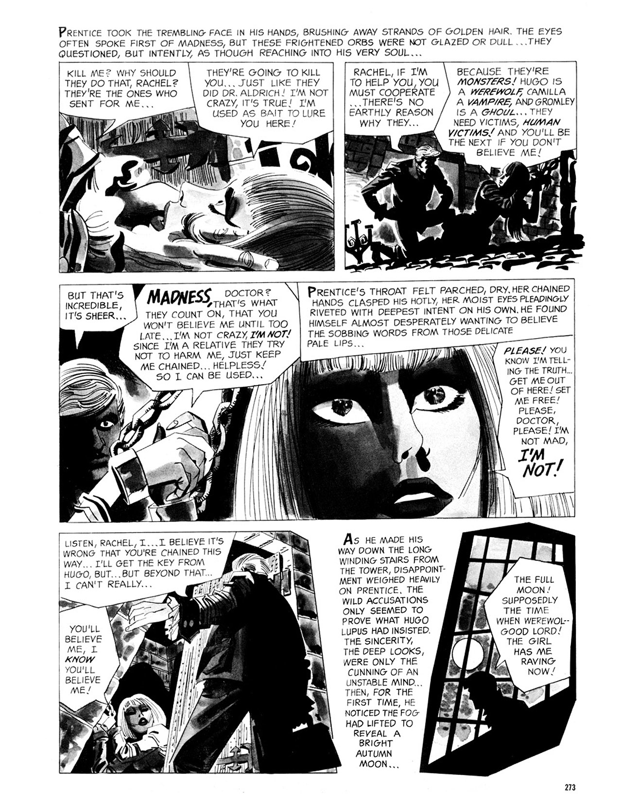 Read online Eerie Archives comic -  Issue # TPB 2 - 274