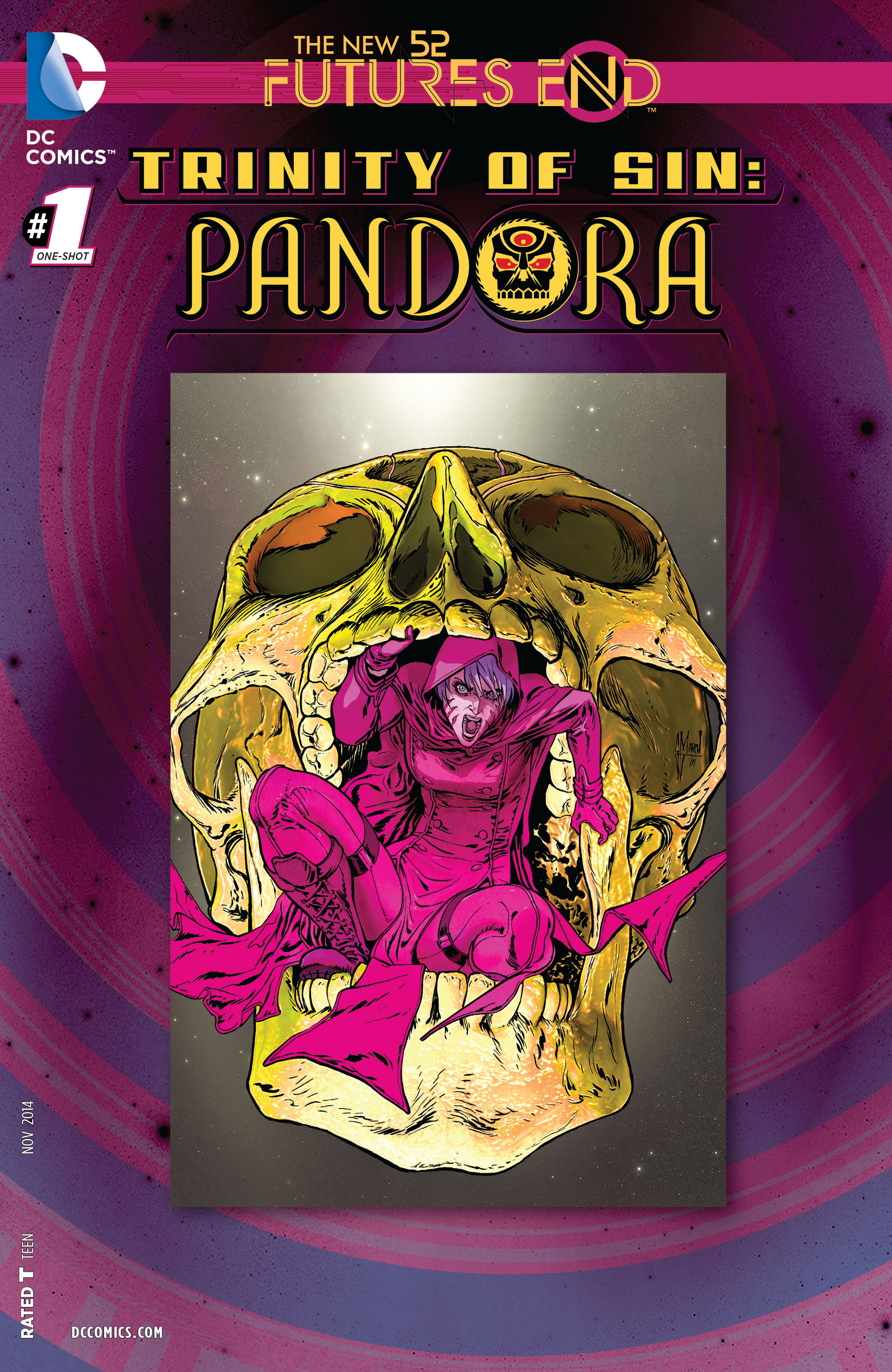 Read online Trinity of Sin: Pandora: Futures End comic -  Issue # Full - 1