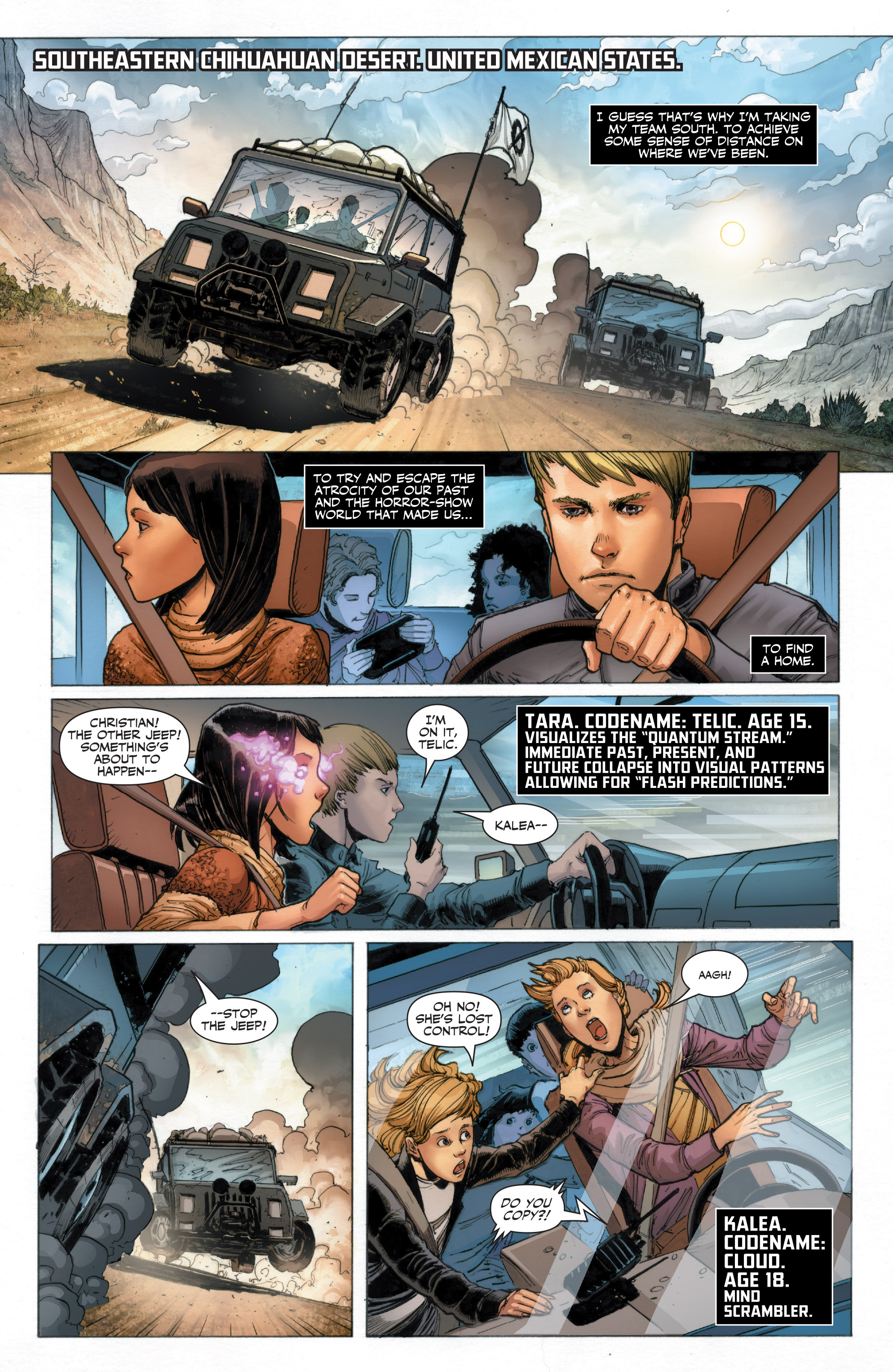 Read online Armor Hunters: Harbinger comic -  Issue # TPB - 9