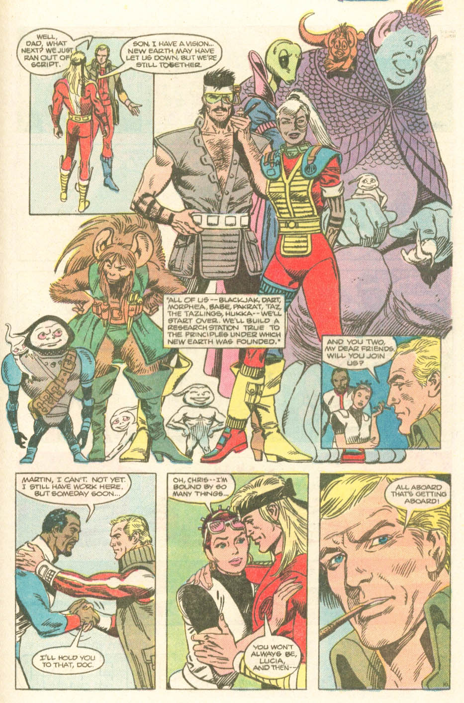 Read online Atari Force (1984) comic -  Issue #20 - 18