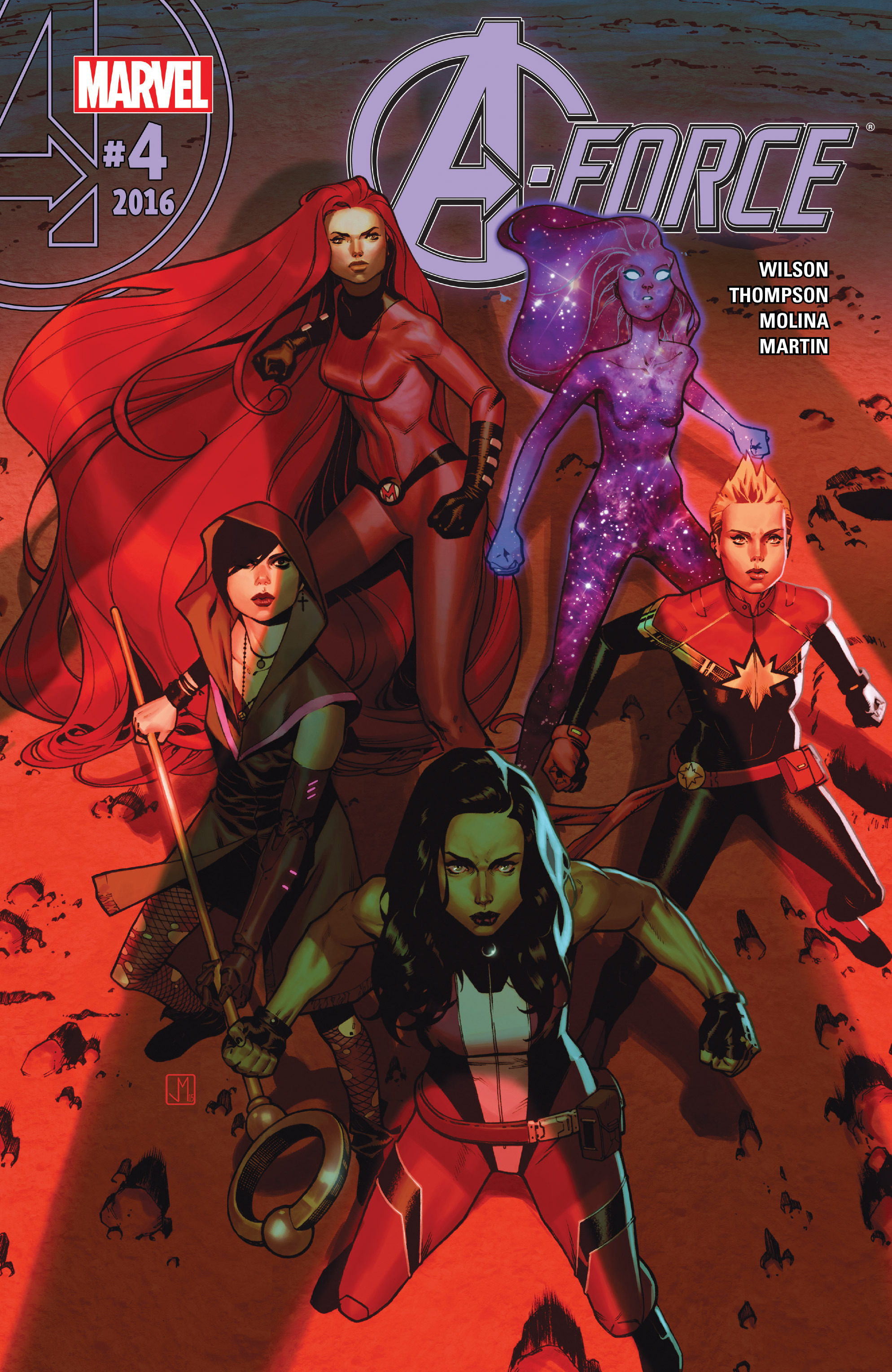 Read online A-Force (2016) comic -  Issue #4 - 1