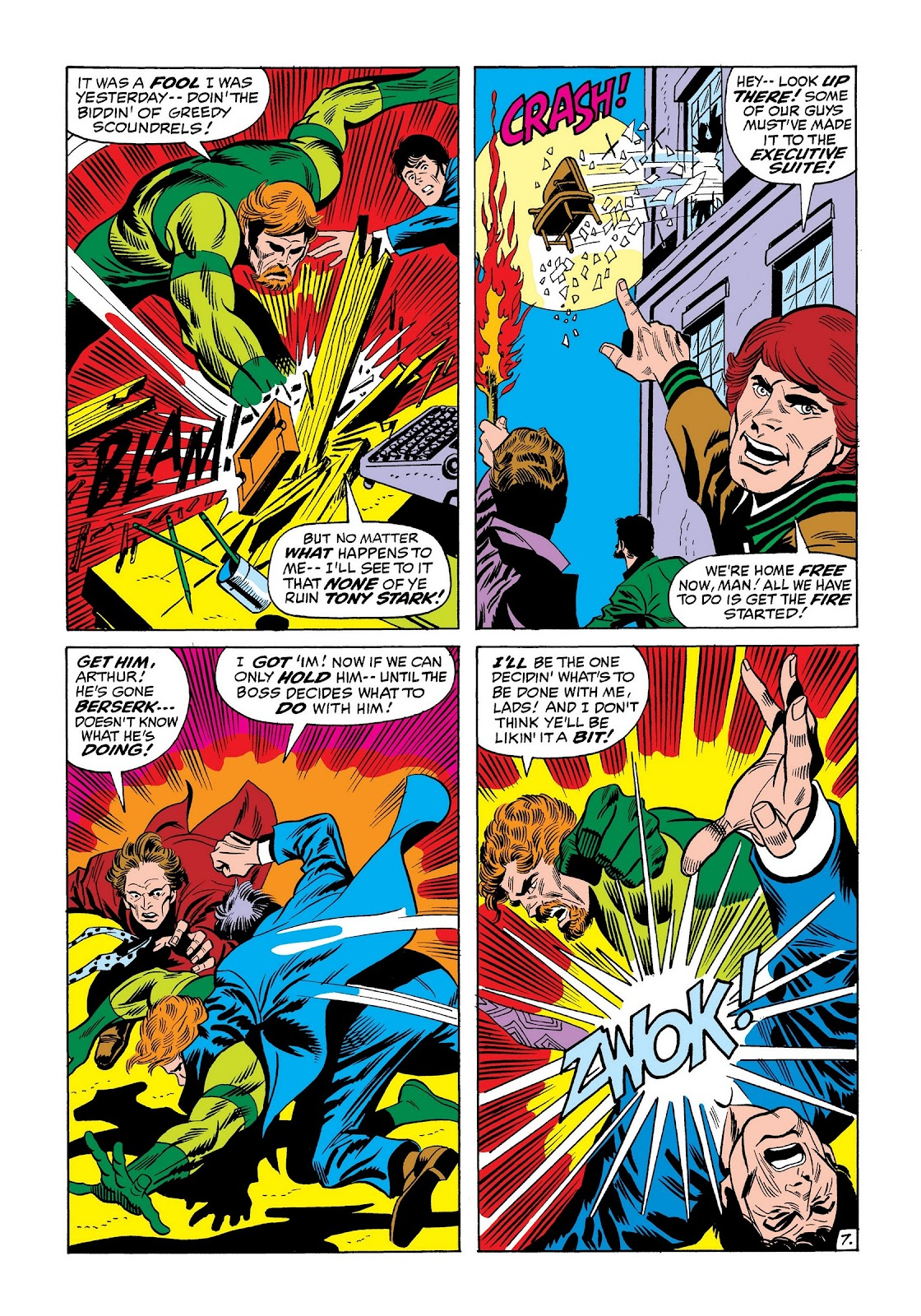 Read online Marvel Masterworks: The Invincible Iron Man comic -  Issue # TPB 8 (Part 2) - 51