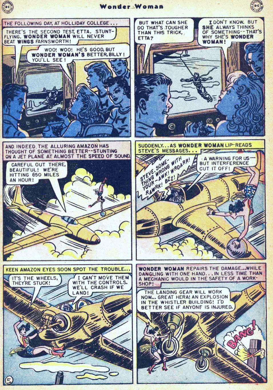 Read online Wonder Woman (1942) comic -  Issue #35 - 7