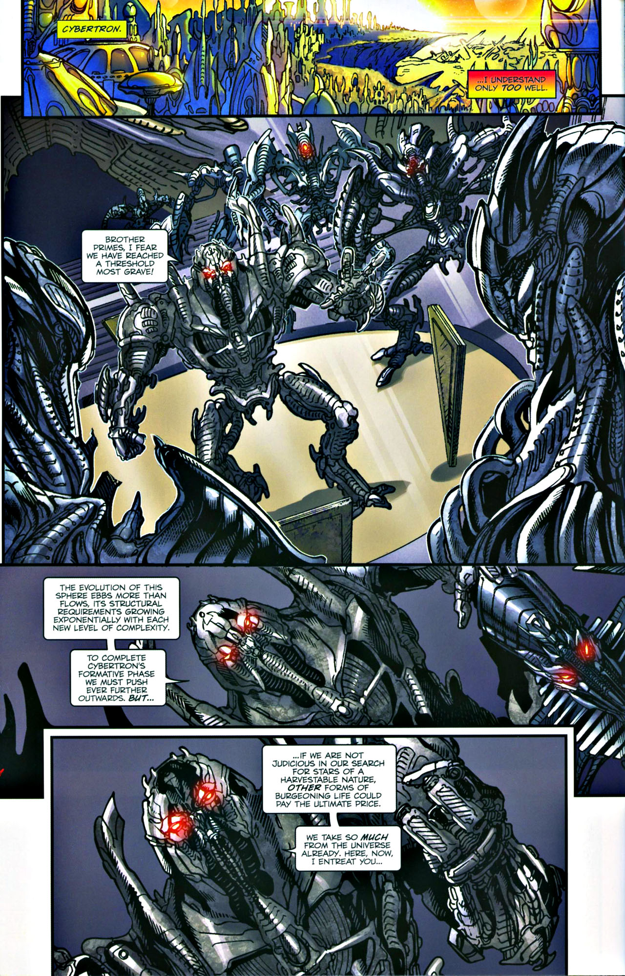 Read online Transformers: Tales of The Fallen comic -  Issue #4 - 5