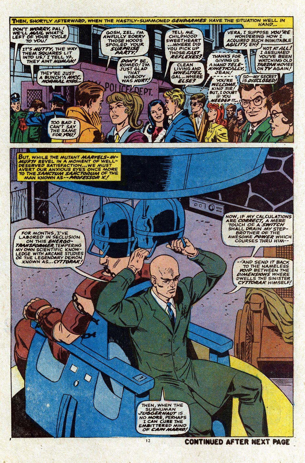 Uncanny X-Men (1963) 80 Page 13