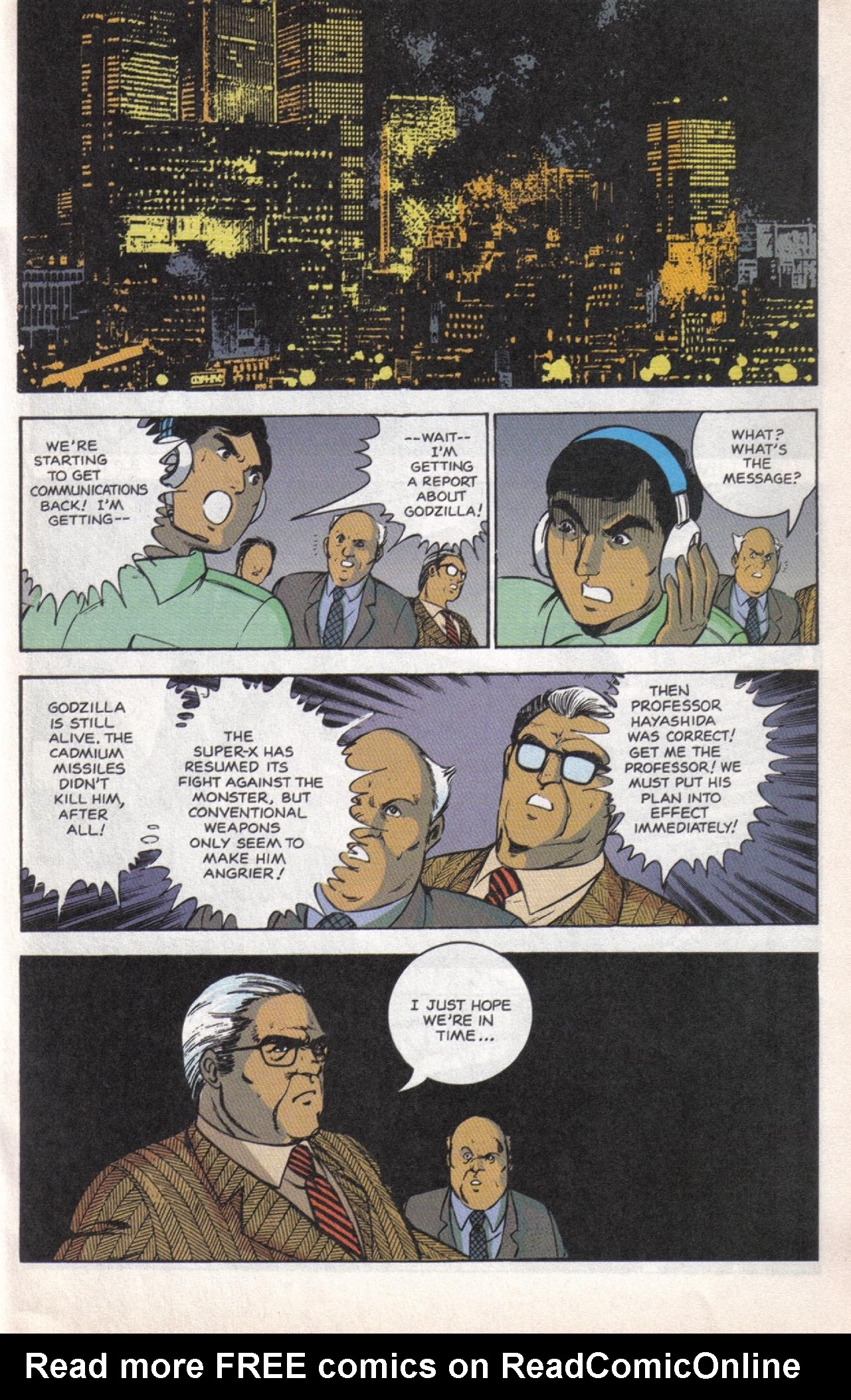 Read online Dark Horse Classics: Terror of Godzilla comic -  Issue #5 - 16