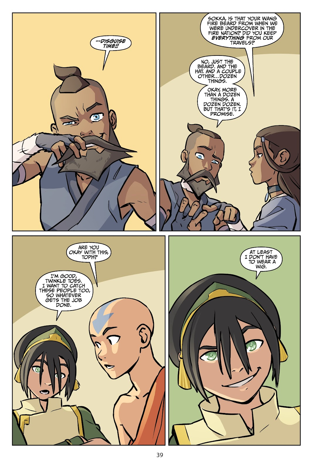Read online Nickelodeon Avatar: The Last Airbender - Imbalance comic -  Issue # TPB 2 - 40