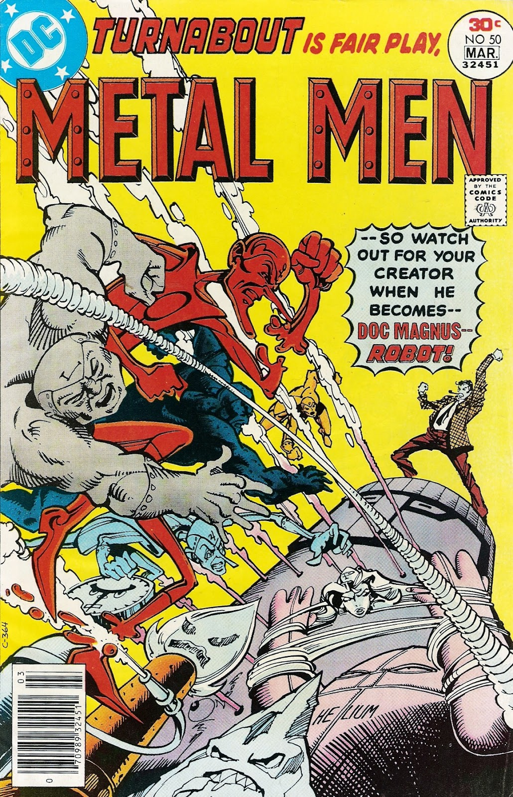 Metal Men (1963) issue 50 - Page 1