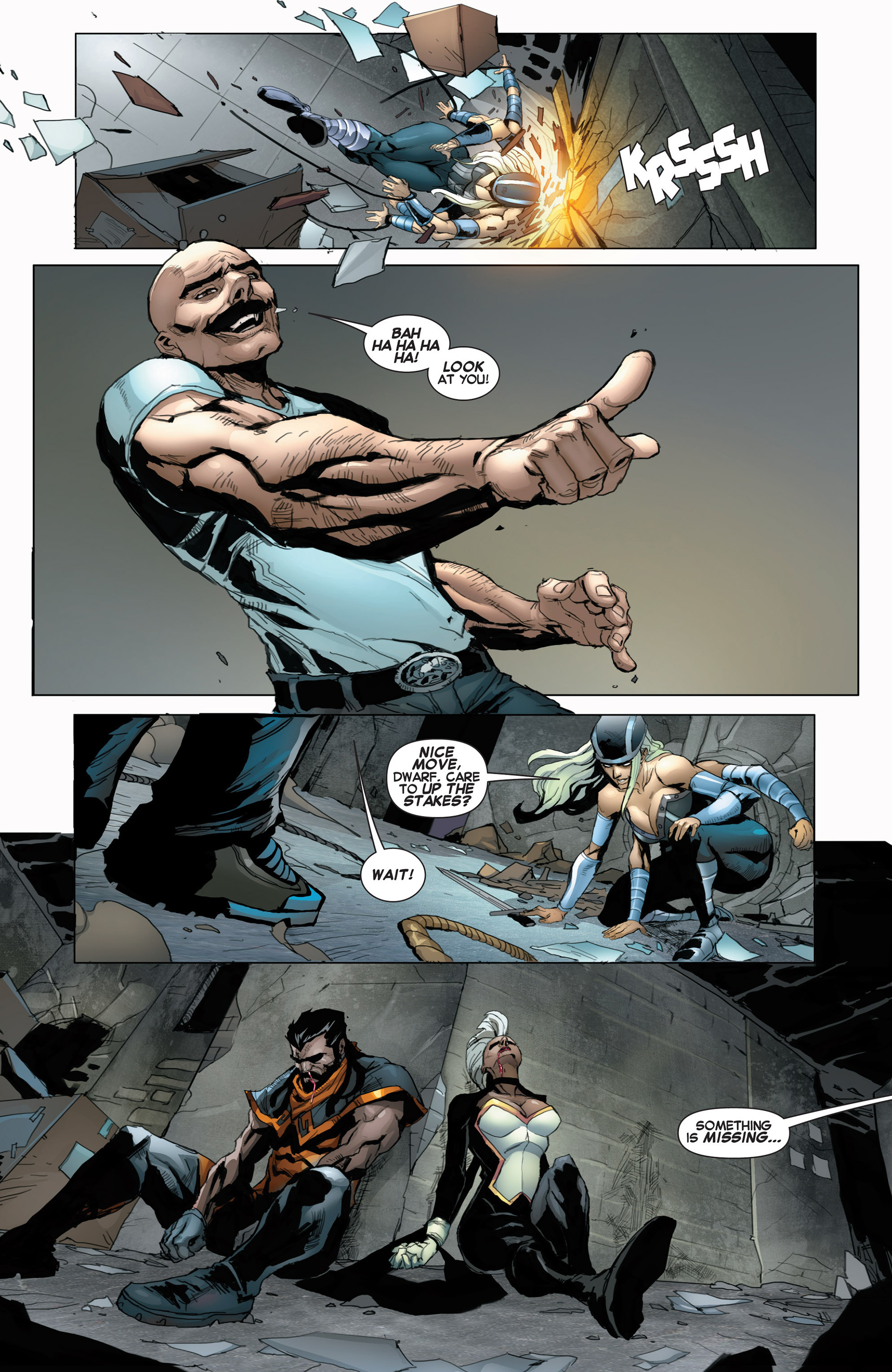 Read online Uncanny X-Force (2013) comic -  Issue #5 - 21