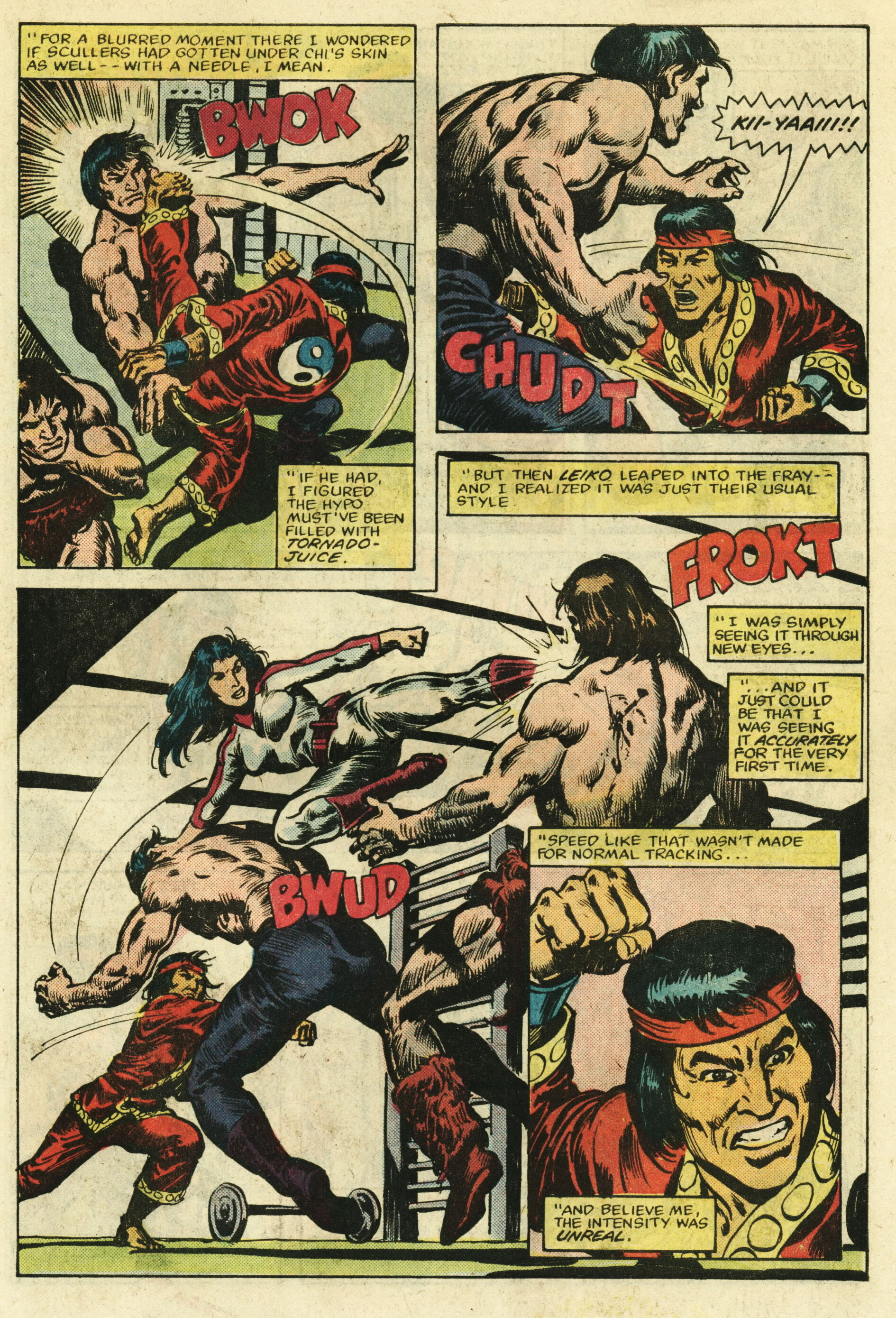 Read online Master of Kung Fu (1974) comic -  Issue #122 - 20