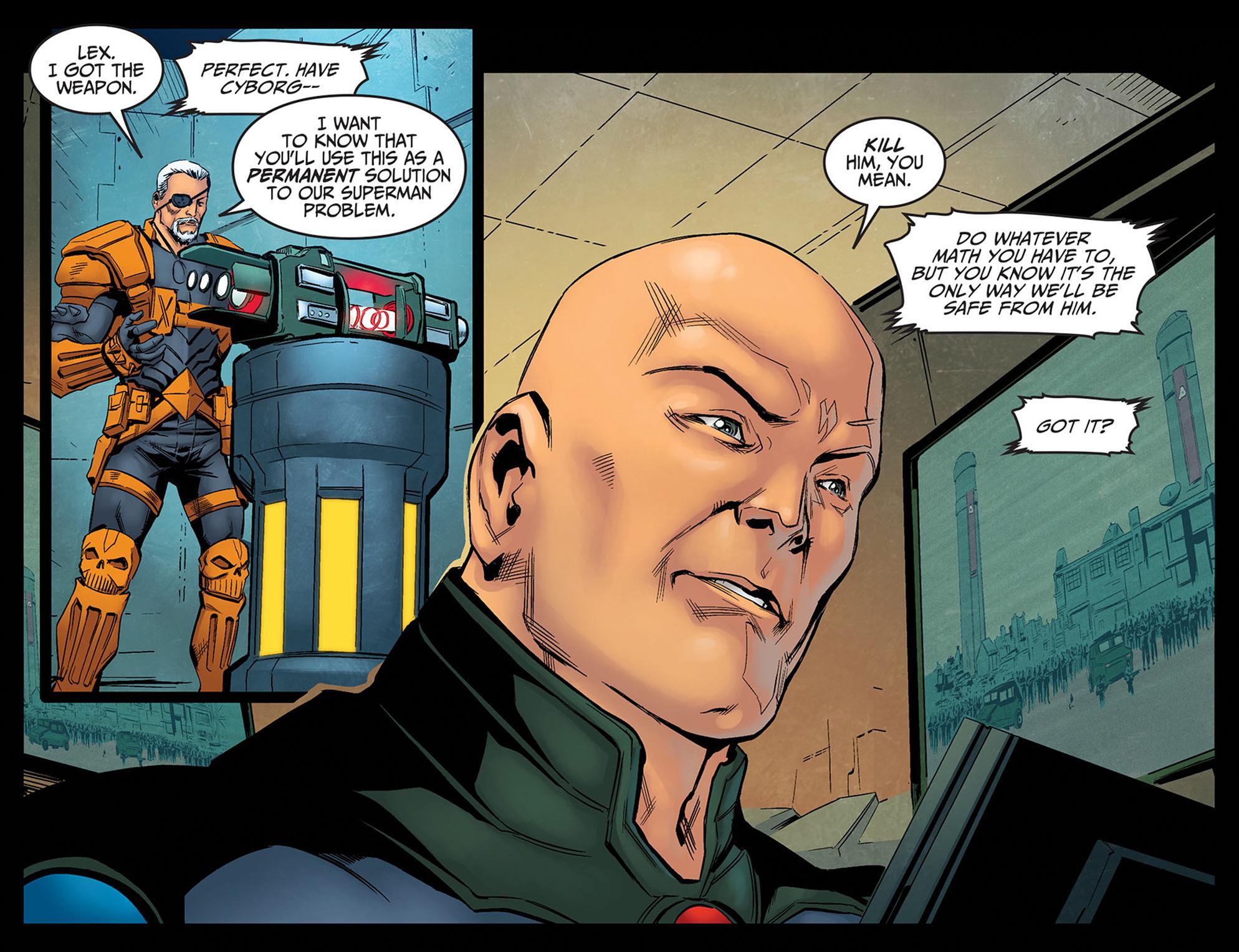 Read online Injustice: Ground Zero comic -  Issue #14 - 21